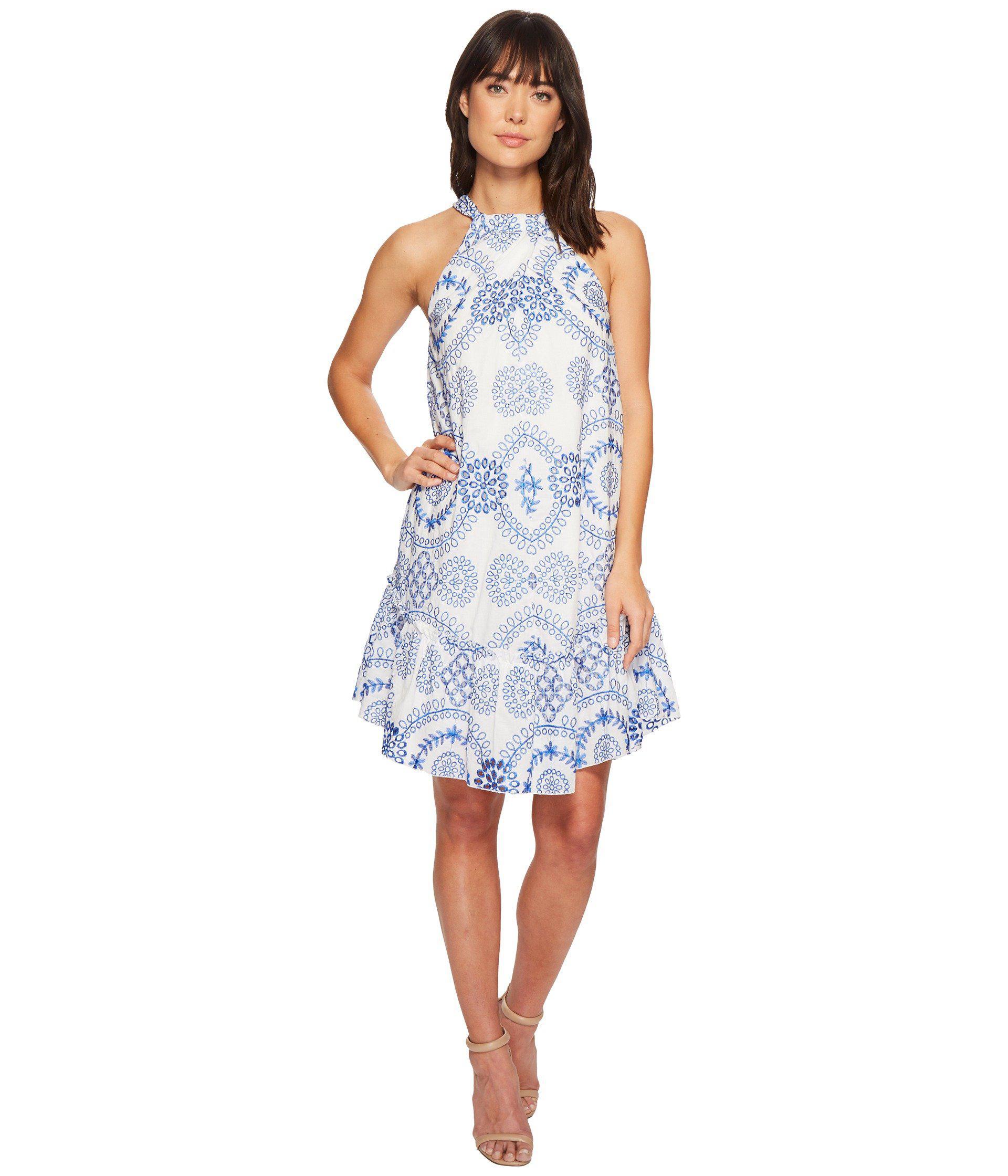 487379850a6 Trina Turk Kori Dress in Blue - Lyst