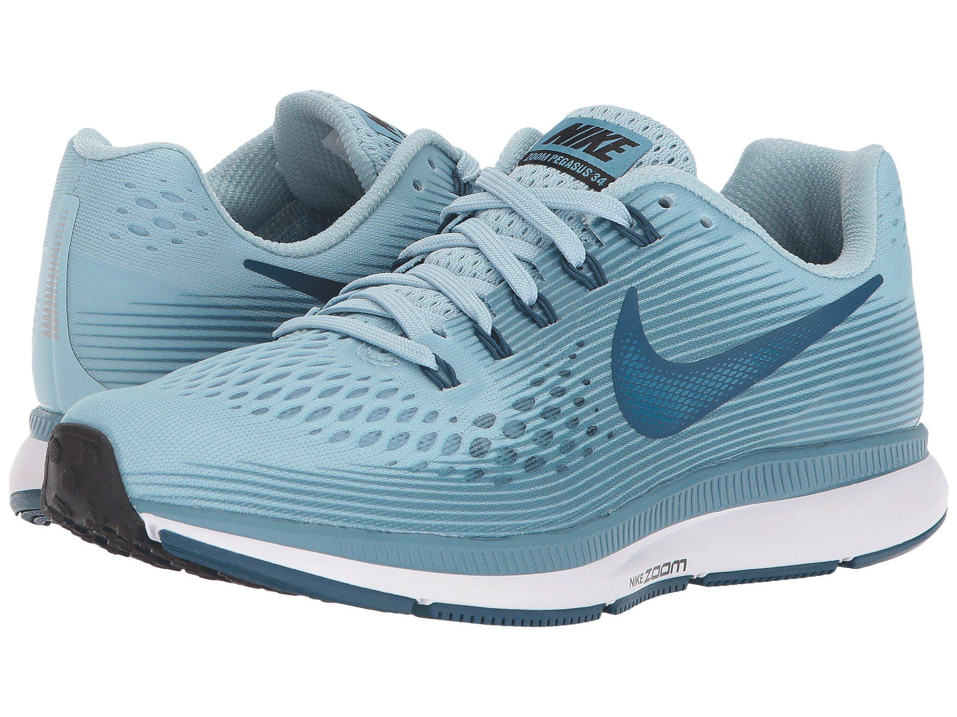 d9371e6738452 Lyst - Nike Air Zoom Pegasus 34 in Blue - Save 36%