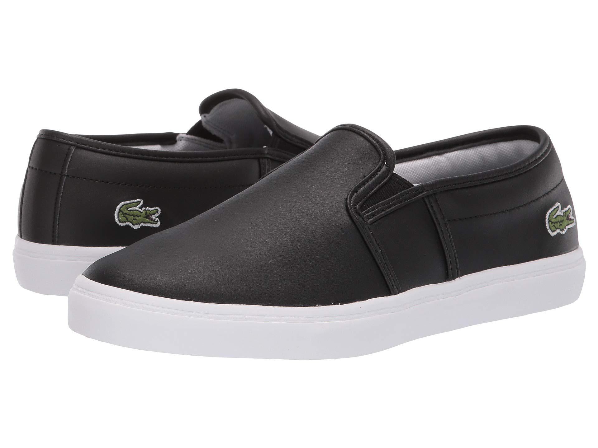 d9f520b6 Lacoste Tatalya 119 2 P Cfa (black/white) Shoes in Black - Lyst