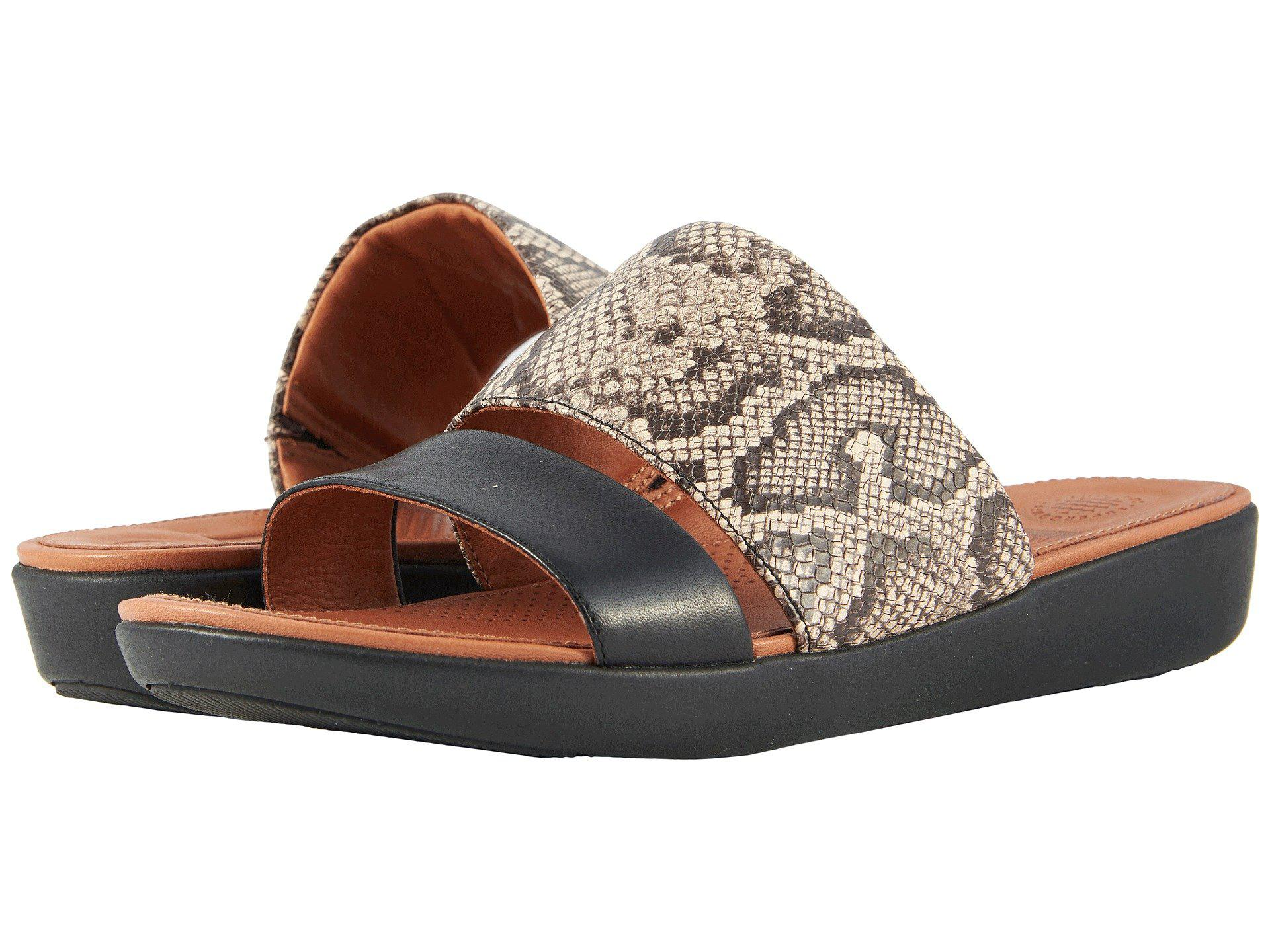 4eb1d5f01619 Lyst - Fitflop Delta Slide Sandals - Save 42%
