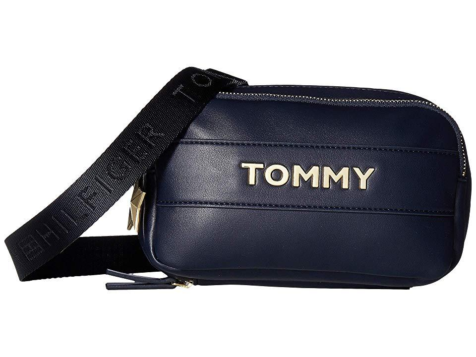 7cd3bf236c82d Tommy Hilfiger Tommy Novelty Zip Wallet (tommy Navy) Wallet Handbags ...