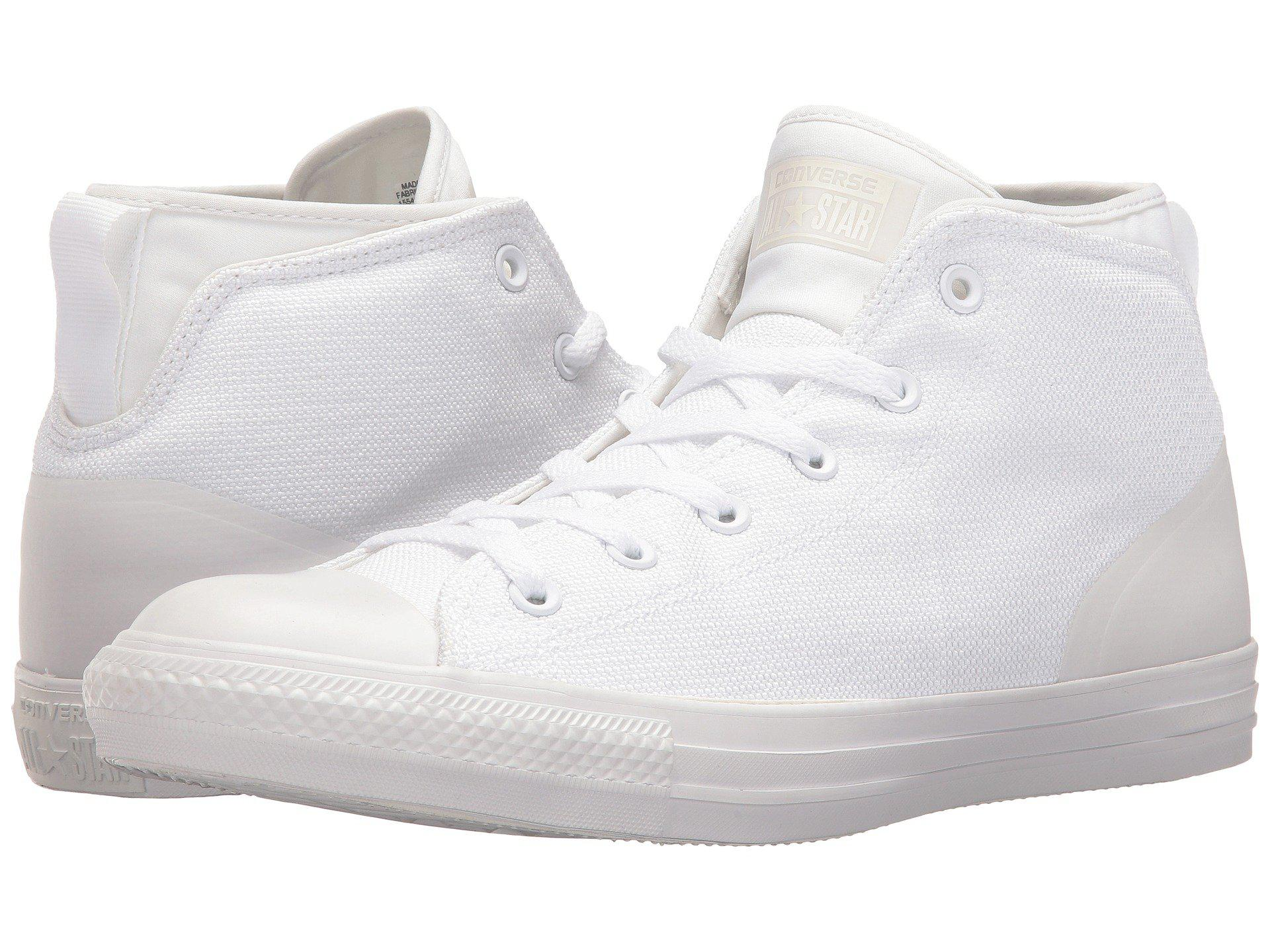 76a296d7bd60 Converse. Women s White Chuck Taylor® All Star® Syde Street Textile Mid