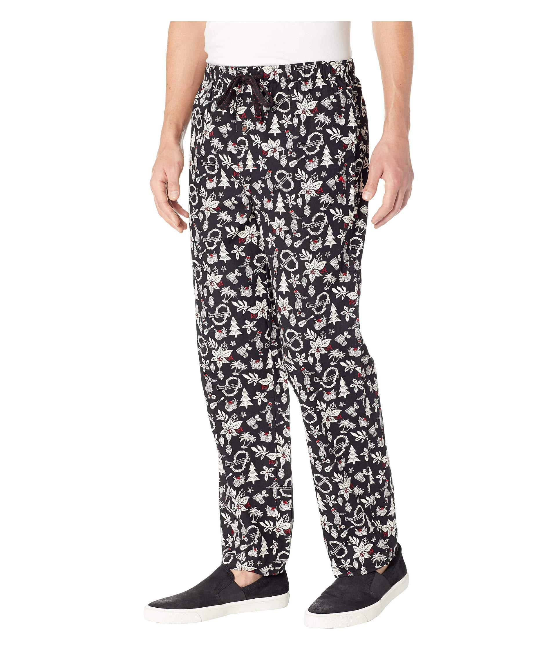 467a27cb8261 Lyst - Tommy Bahama Island Washed Cotton Woven Pants in Black for Men -  Save 41%