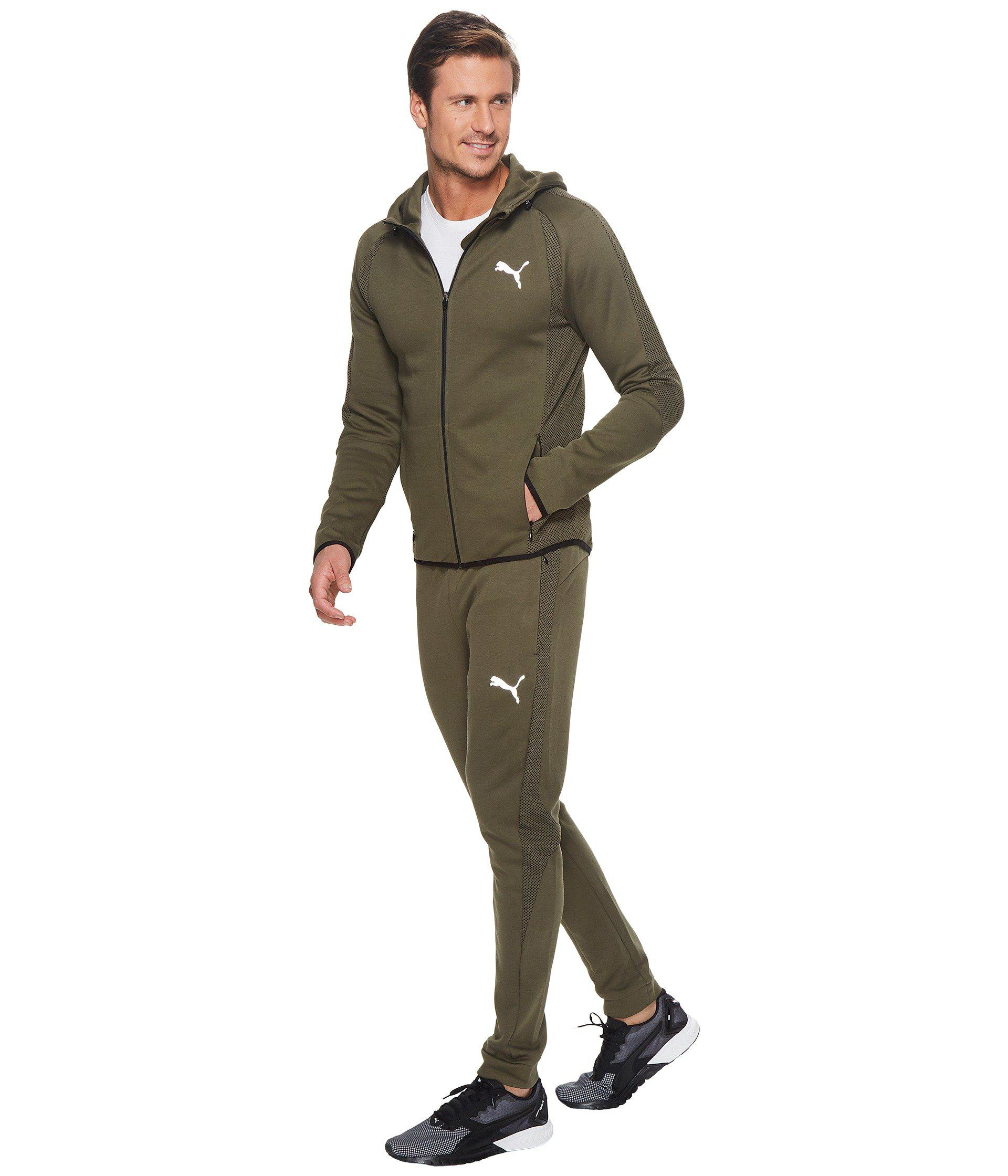 2127401da12b Lyst - PUMA Evostripe Ultimate Full Zip Hoodie in Green for Men