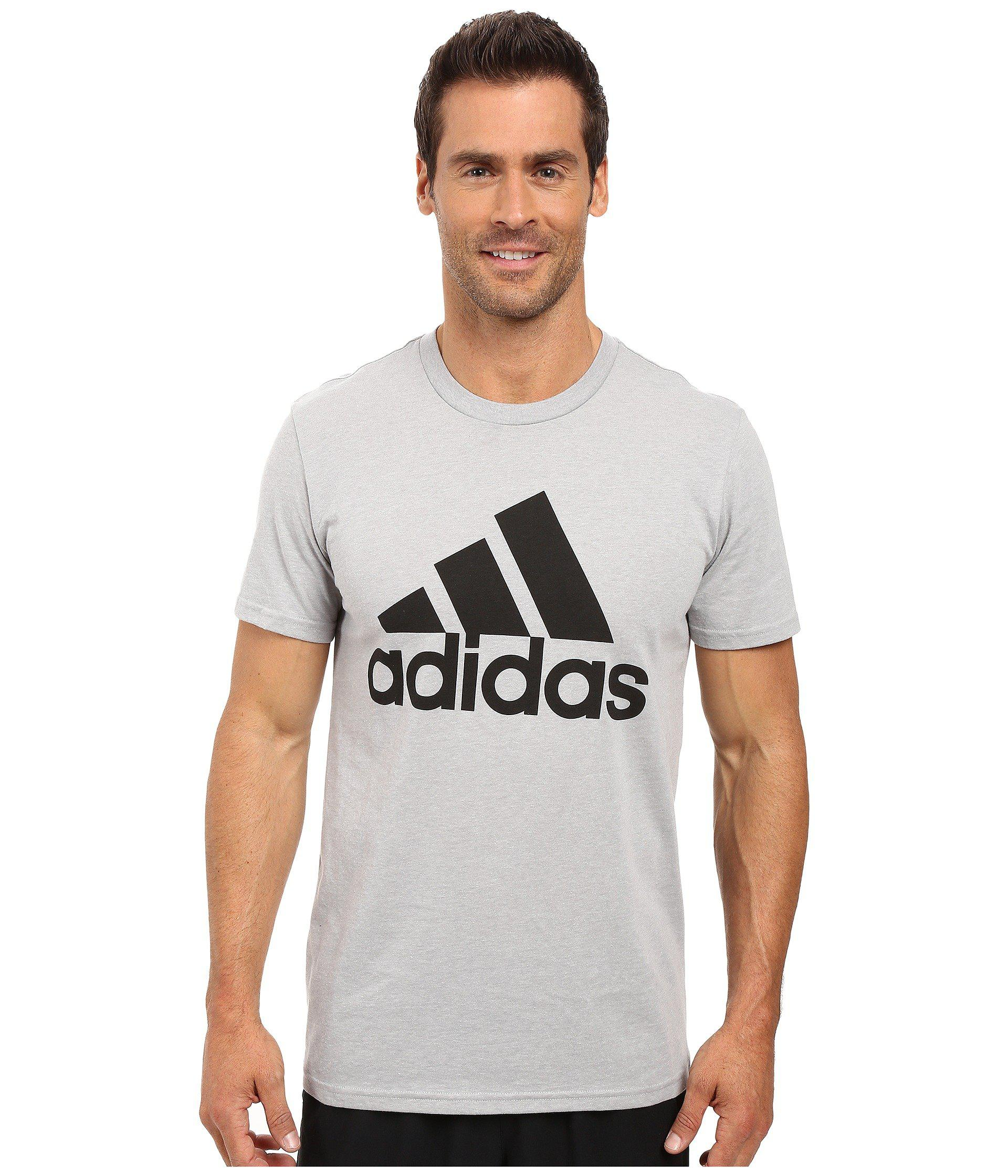 b13dff2a2a Lyst - adidas Badge Of Sport Classic Tee in Gray for Men