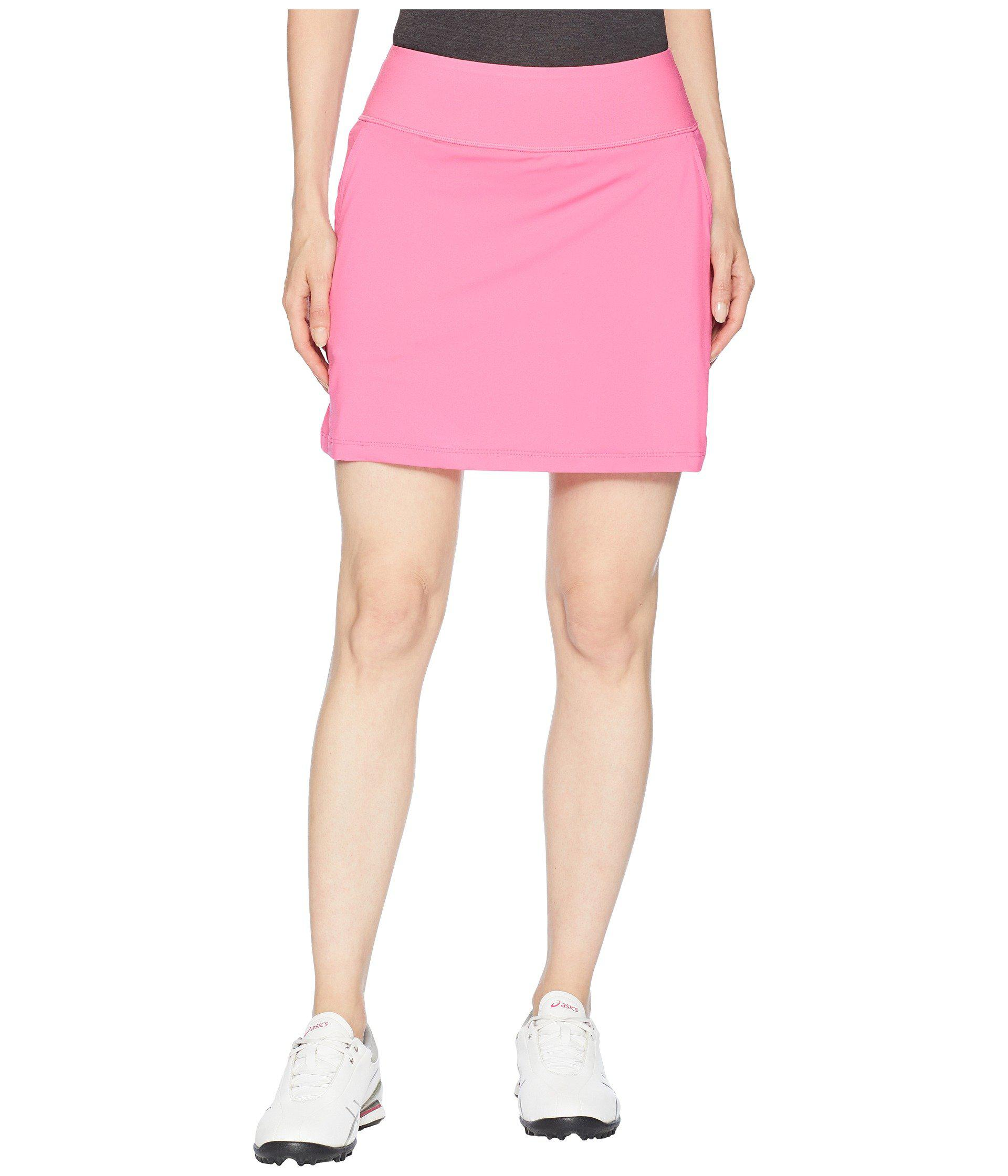 07345bc15 Lyst - PUMA Pwrshape Solid Knit Skirt in Pink - Save 36%