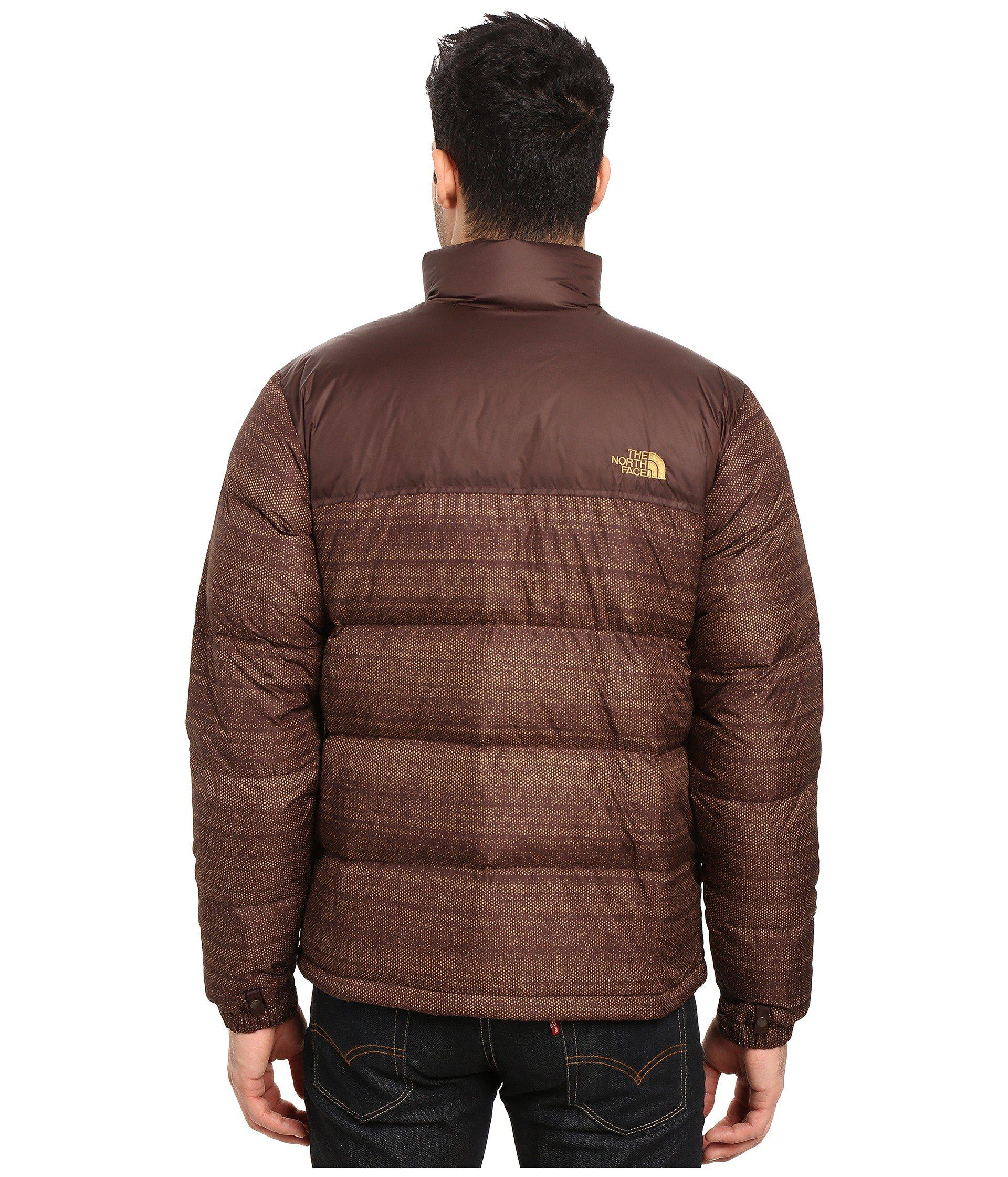 d861bb8ace7e Lyst - The North Face Nuptse Jacket in Brown for Men