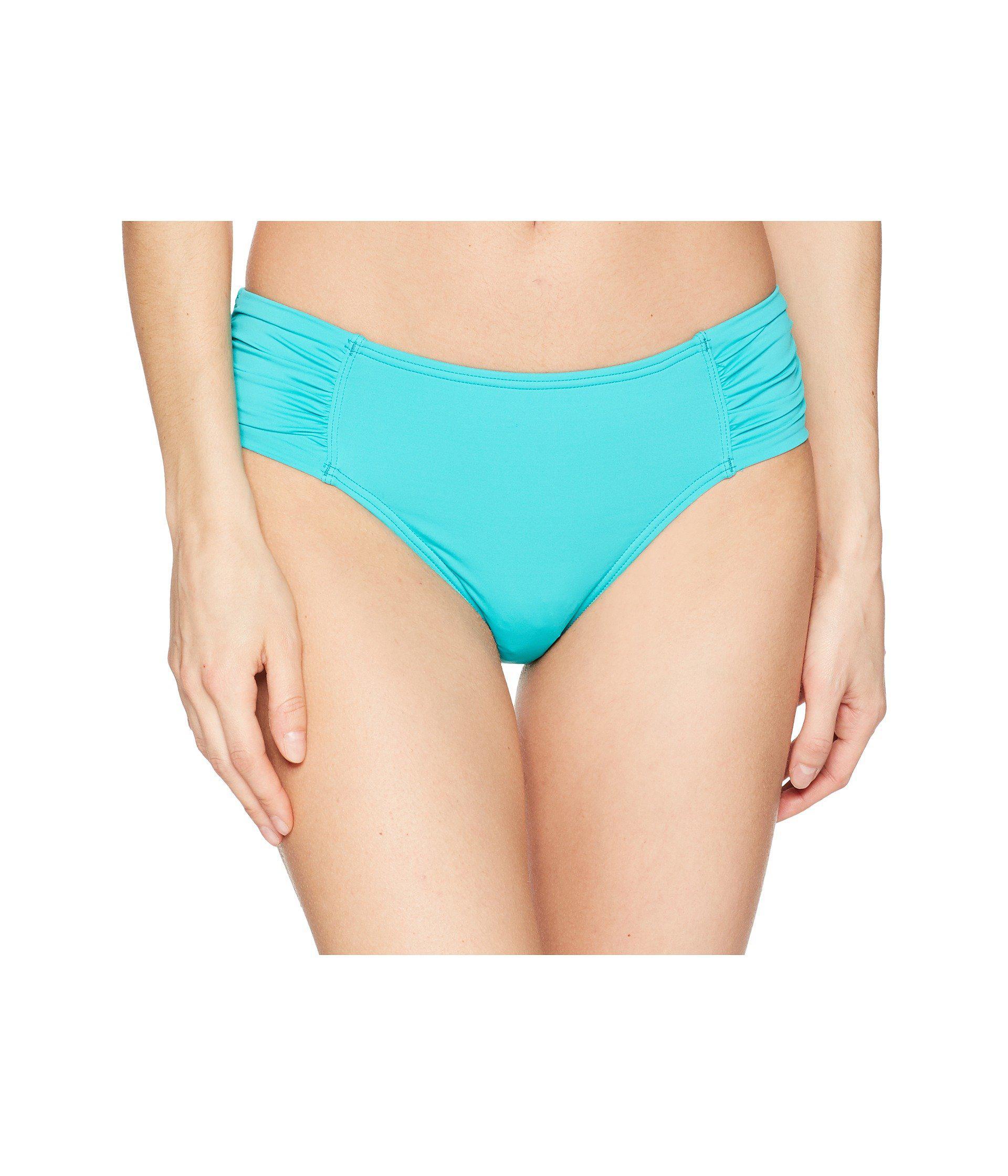 e05c4c7121c3c Lyst - Tommy Bahama Pearl High-waist Side-shirred Bikini Bottom in ...