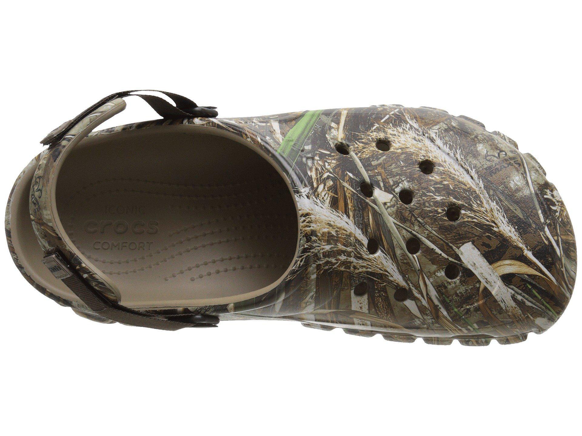 7b75910d6aacbe Lyst - Crocs™ Off Road Sport Realtree Max-5