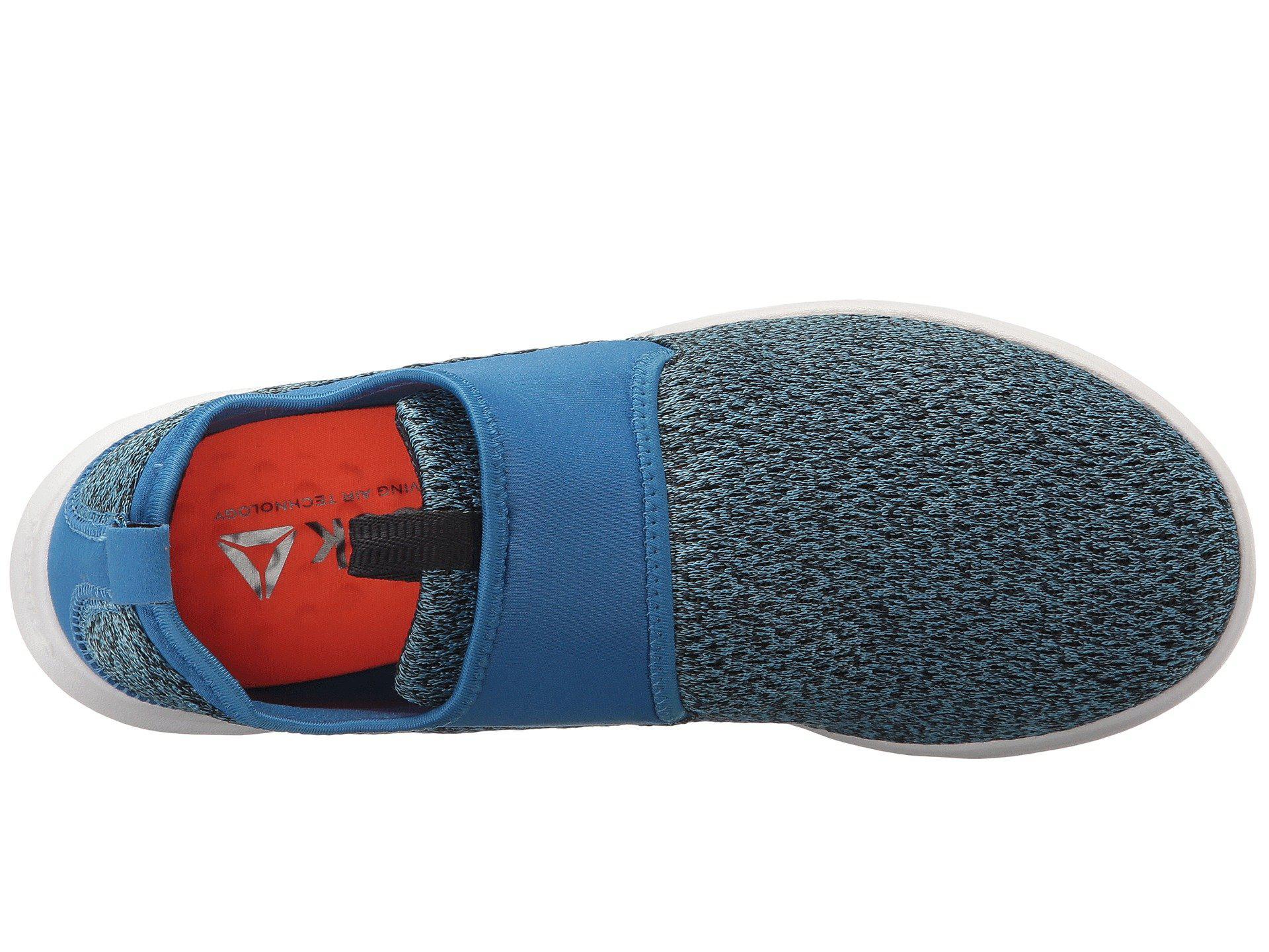 0e55c29015f Reebok - Blue Dmx Lite Slip Walking Shoe - Lyst. View fullscreen