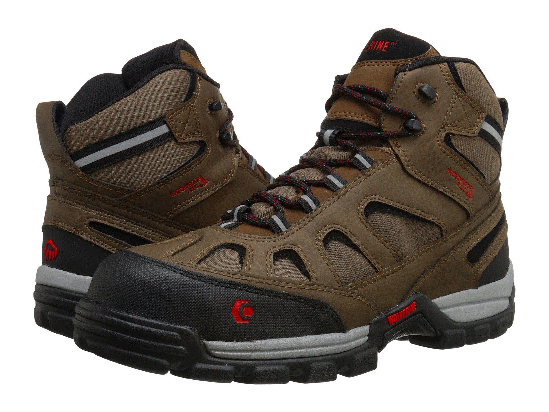 7d8e866715b Lyst - Wolverine Tarmac Fx Mid Composite Toe Boot in Brown for Men