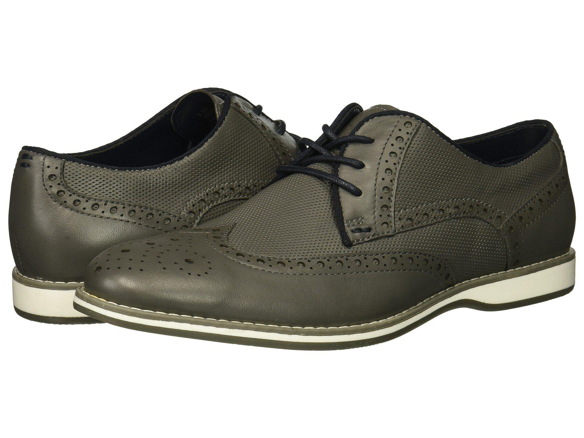 b90b701f3ead Lyst - Kenneth Cole Reaction Weiser Lace-up in Gray for Men - Save 8%