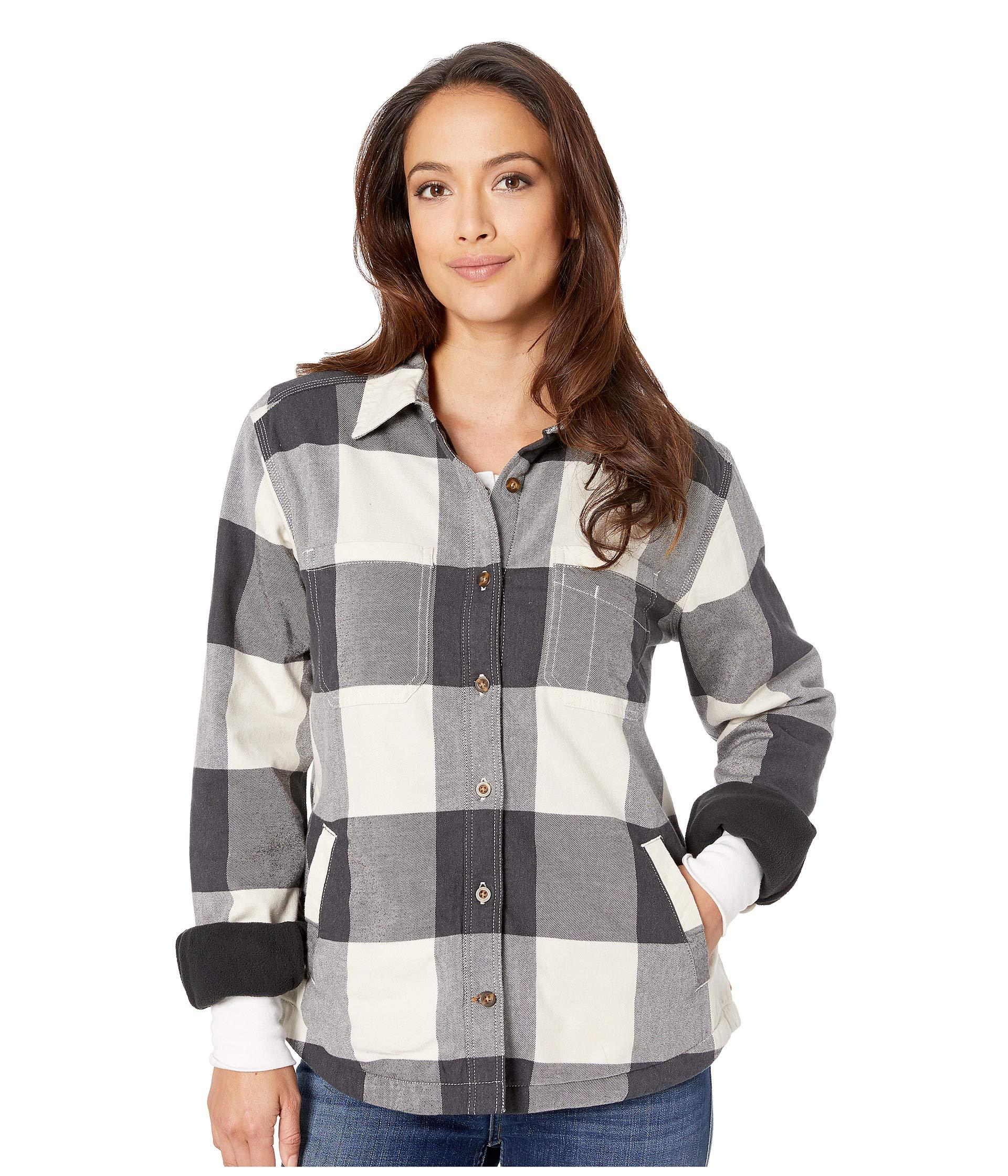 new styles 7ba1a f5454 Carhartt. Women s Natural Rugged Flex® Hamilton Fleece Lined Shirt.  60  33  From 6PM. Free shipping with ...