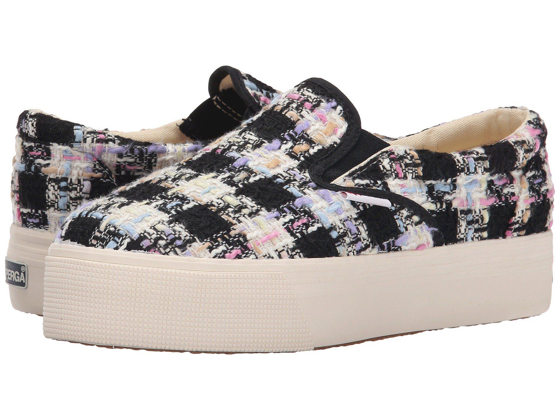 Womens Shoes Superga 2314 Boucle Pink Multi