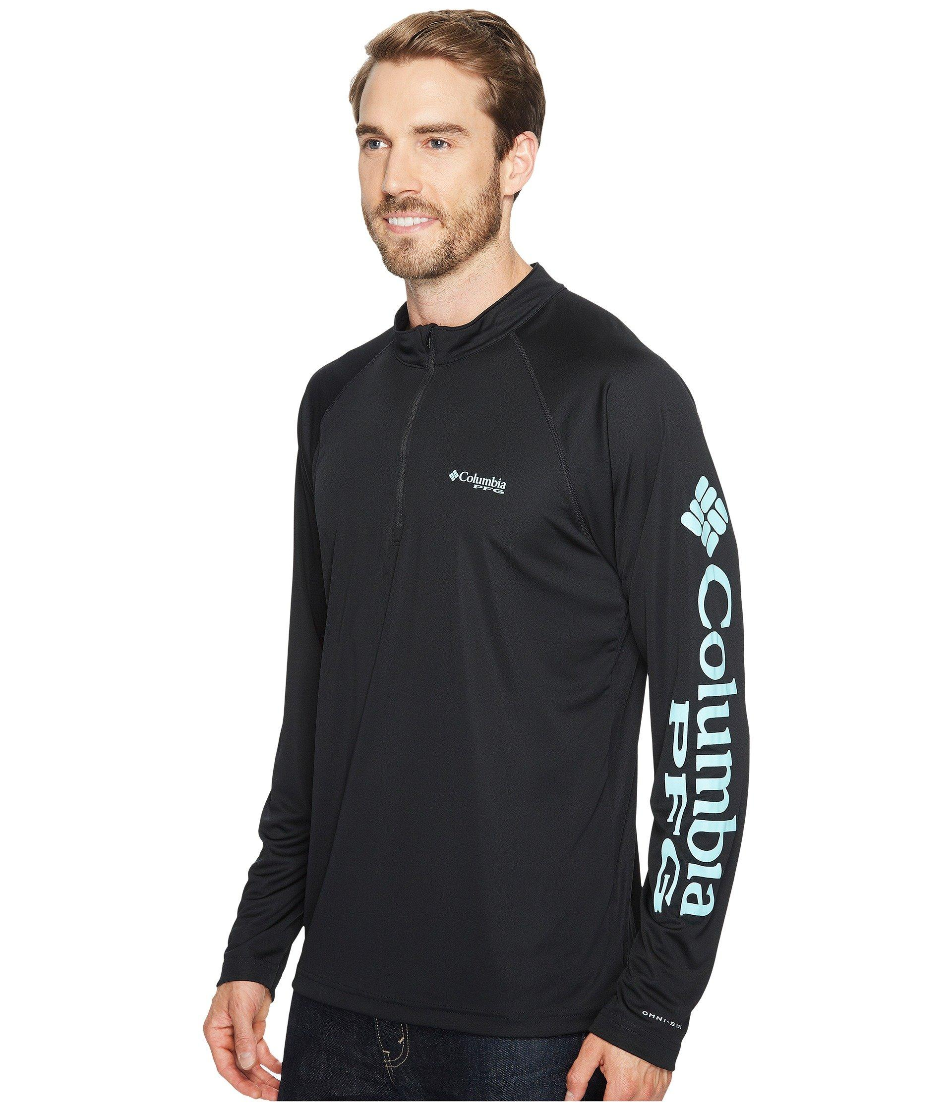 d30d2dbc89b Lyst - Columbia Terminal Tackle 1/4 Zip in Black for Men - Save 7%