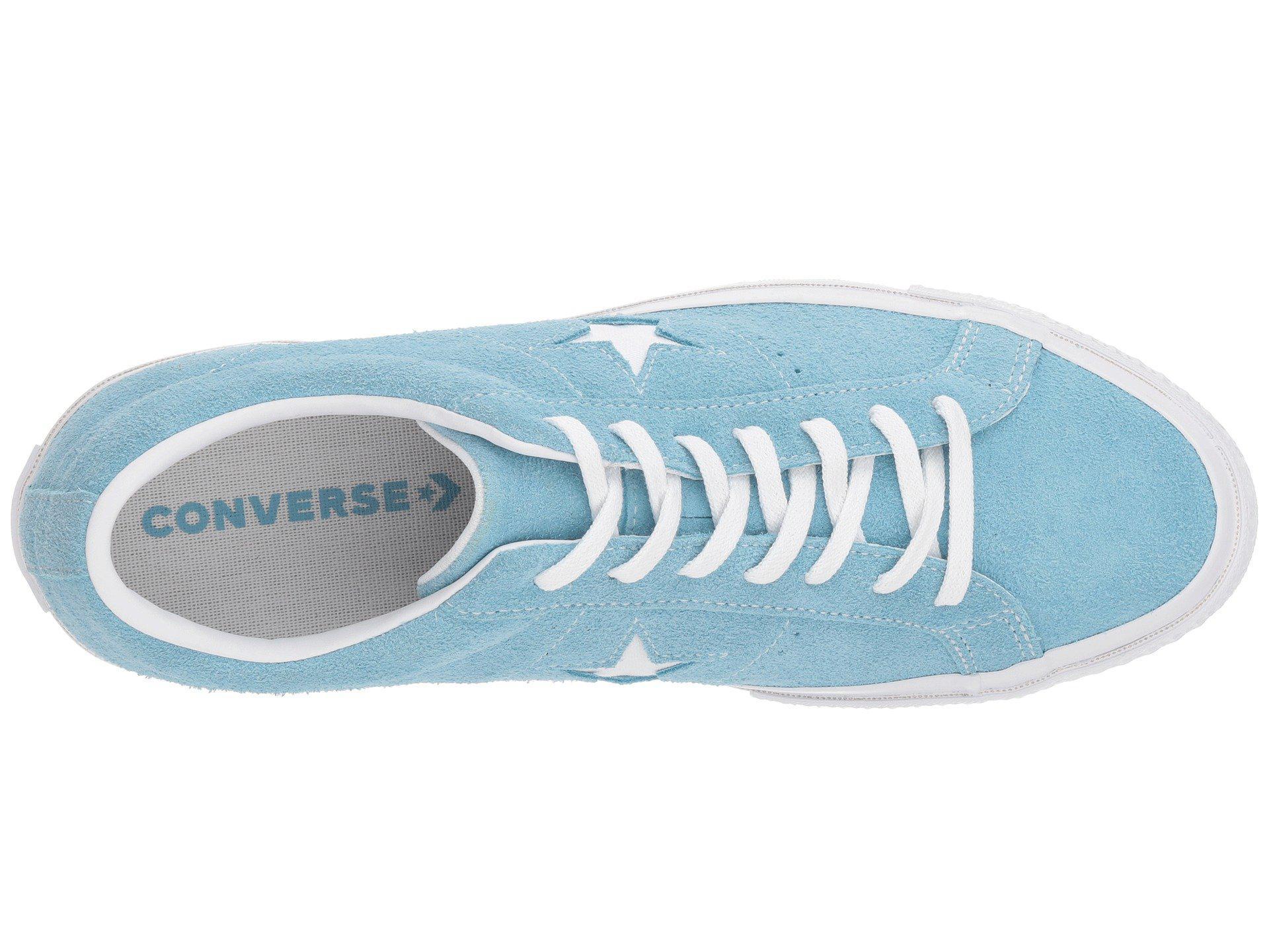 743bd19380c9 Converse - Blue One Star - Suede Ox - Lyst. View fullscreen
