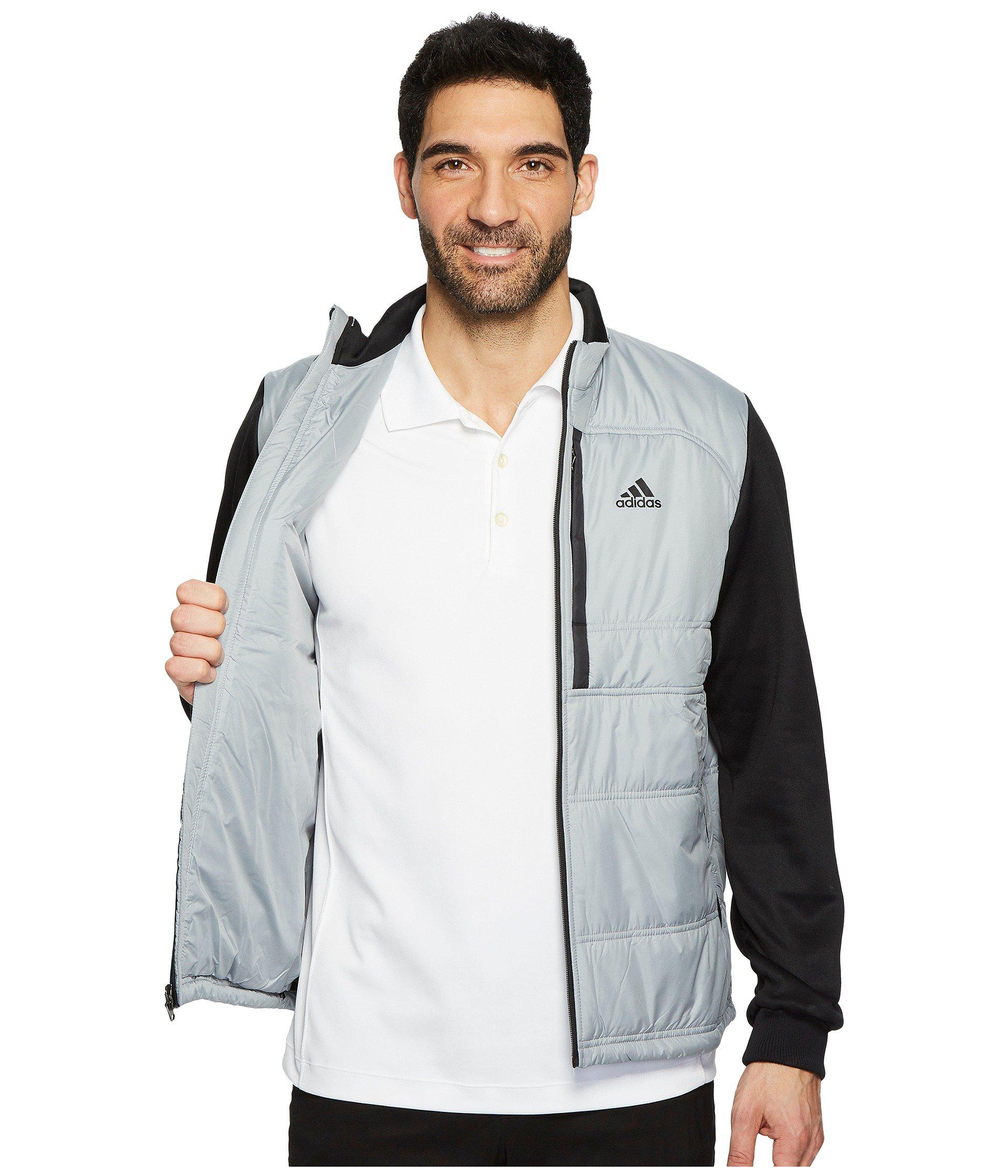 45f1f461e74b Lyst - adidas Originals Climaheat Primaloft Full Zip Jacket in Gray ...