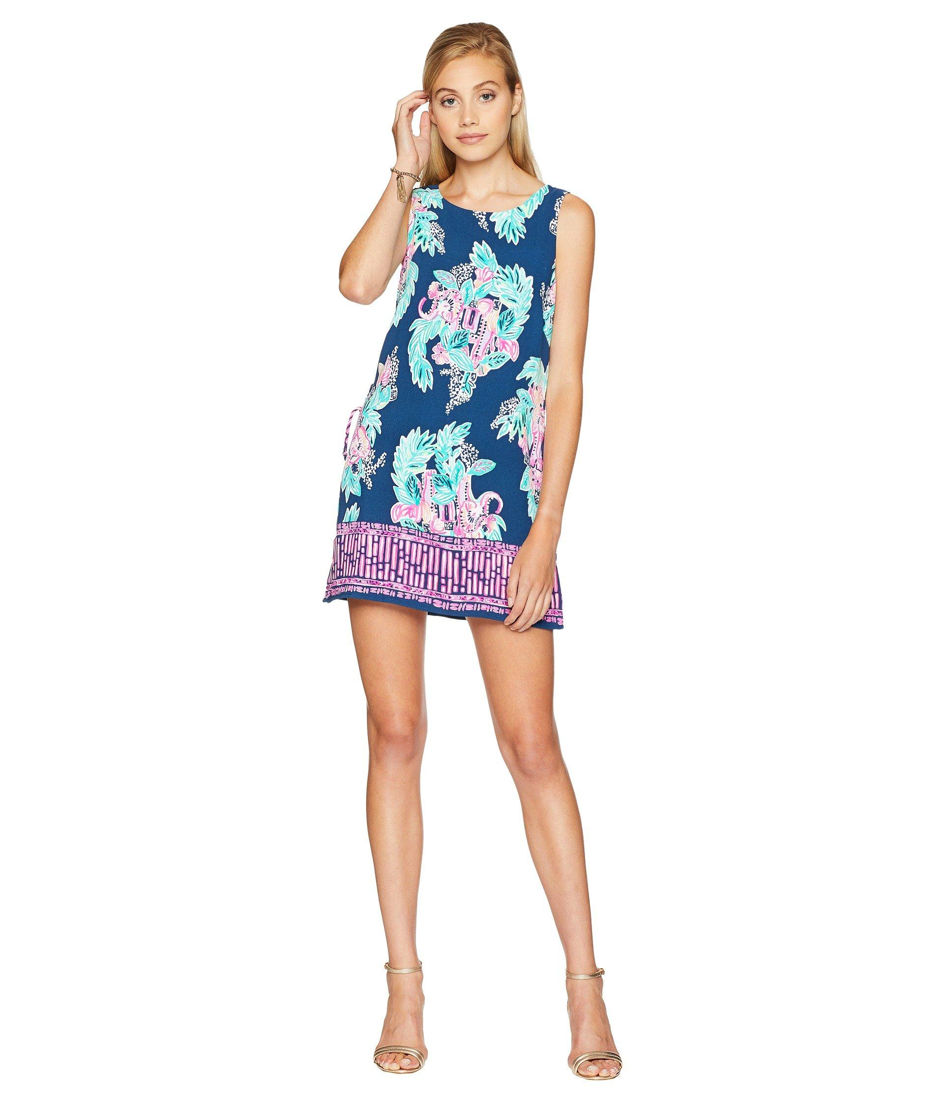 2ea2e5d11f00 Lyst - Lilly Pulitzer Donna Romper in Blue