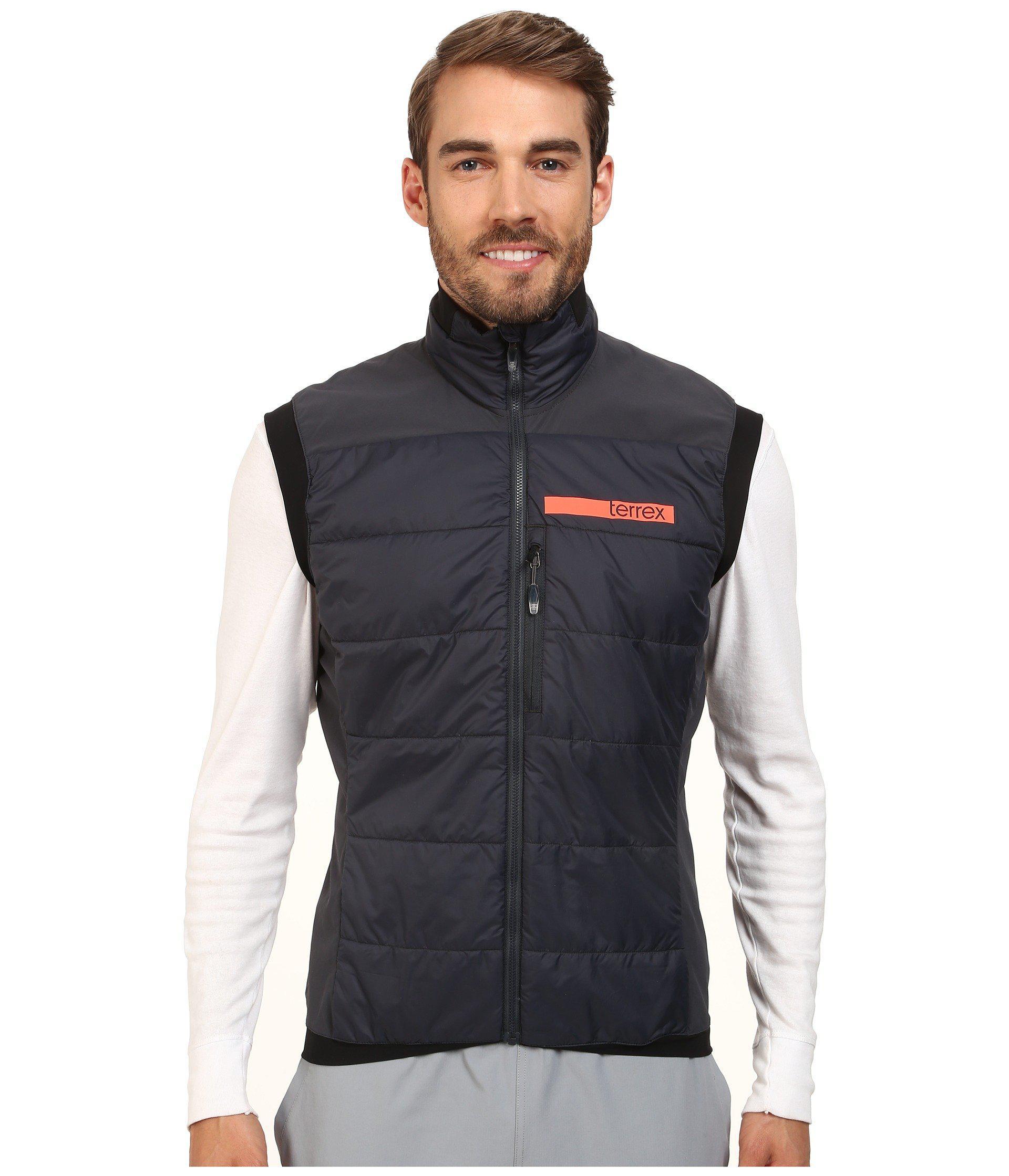 52d5e9c6370 Lyst - adidas Originals Terrex Skyclimb Insulation Vest 2 in Gray ...