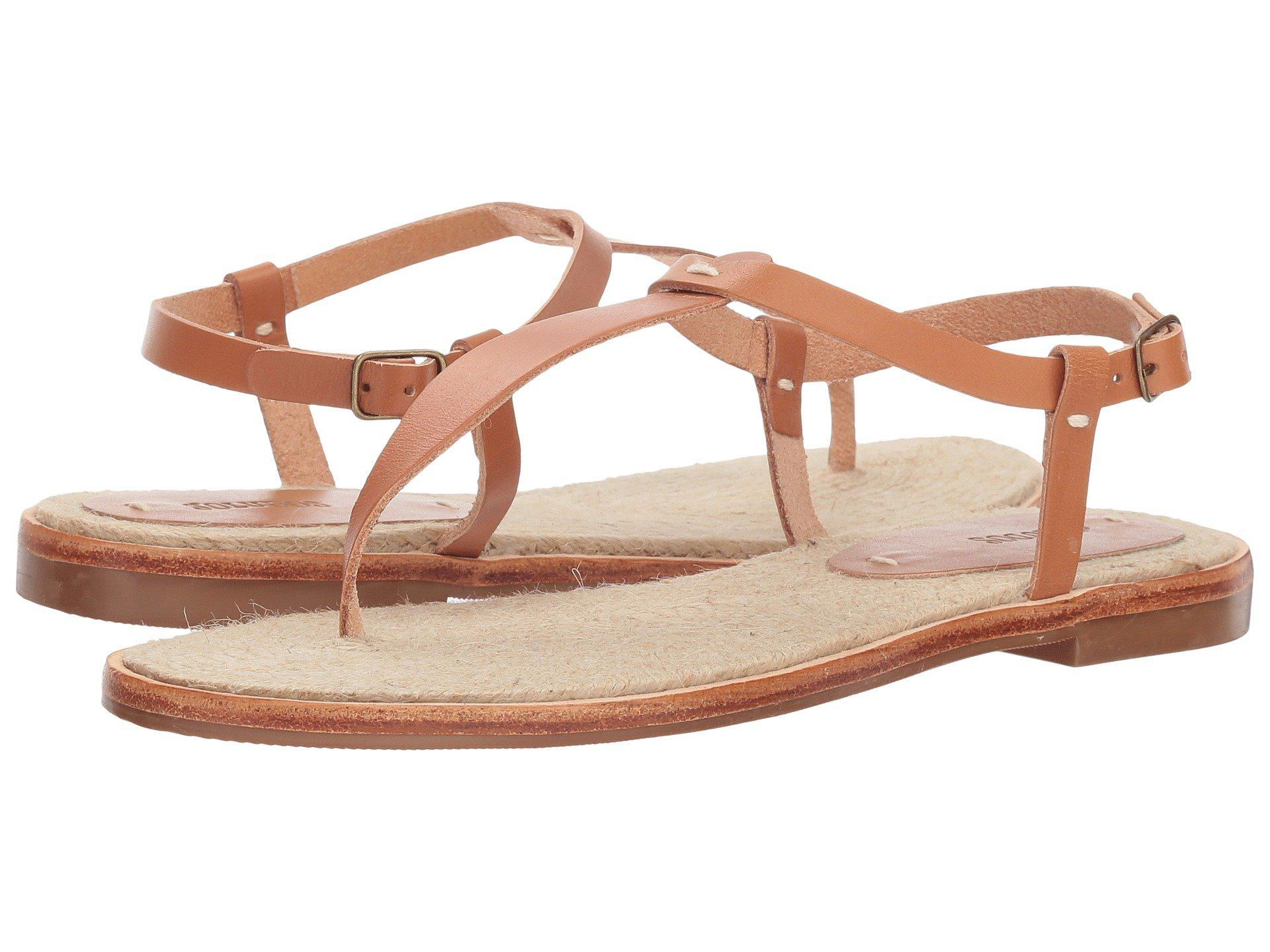 5eb37c15c4e Lyst - Soludos Classic Leather Thong Sandal - Save 36%