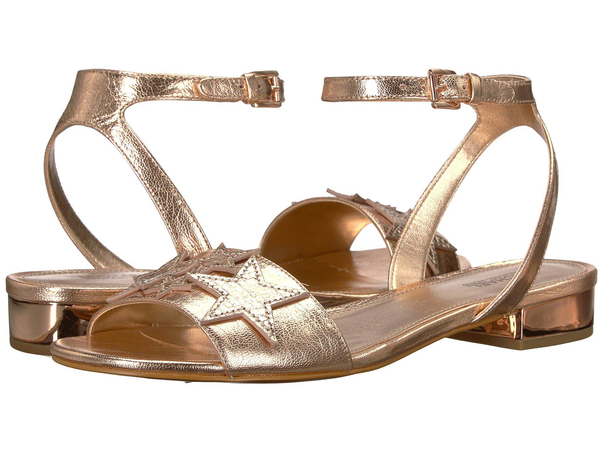 c7b9be2c2bdeb MICHAEL Michael Kors - Multicolor Lexie Flat Sandal - Lyst