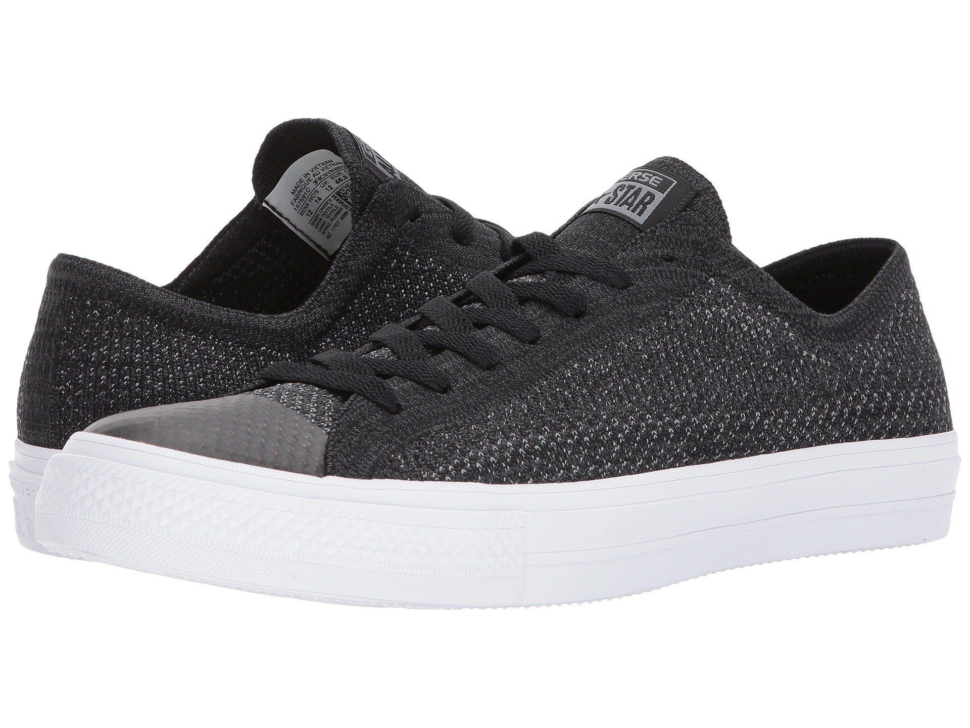 66ce6485ab1556 Lyst - Converse Chuck Taylor® All Star® X Nike Flyknit Ox in Black ...