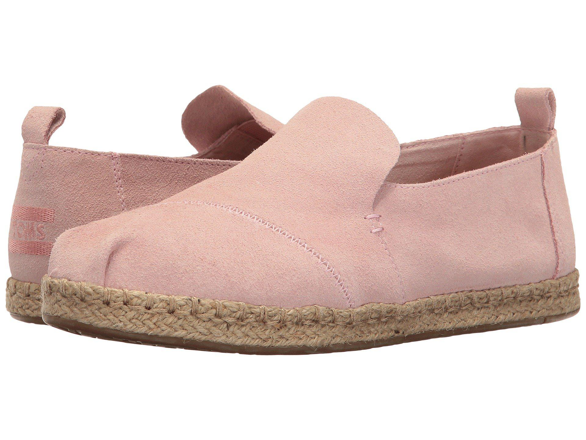 6b640d83709 Lyst - TOMS Deconstructed Alpargata in Pink - Save 29%