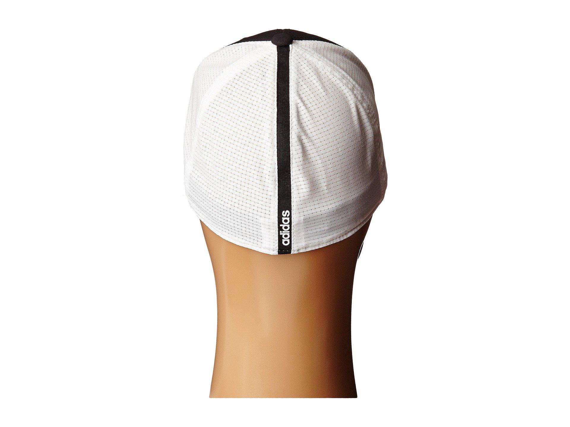 93f9efbf9384e adidas Originals Lightweight Climacool® Flexfit Hat in Black for Men ...