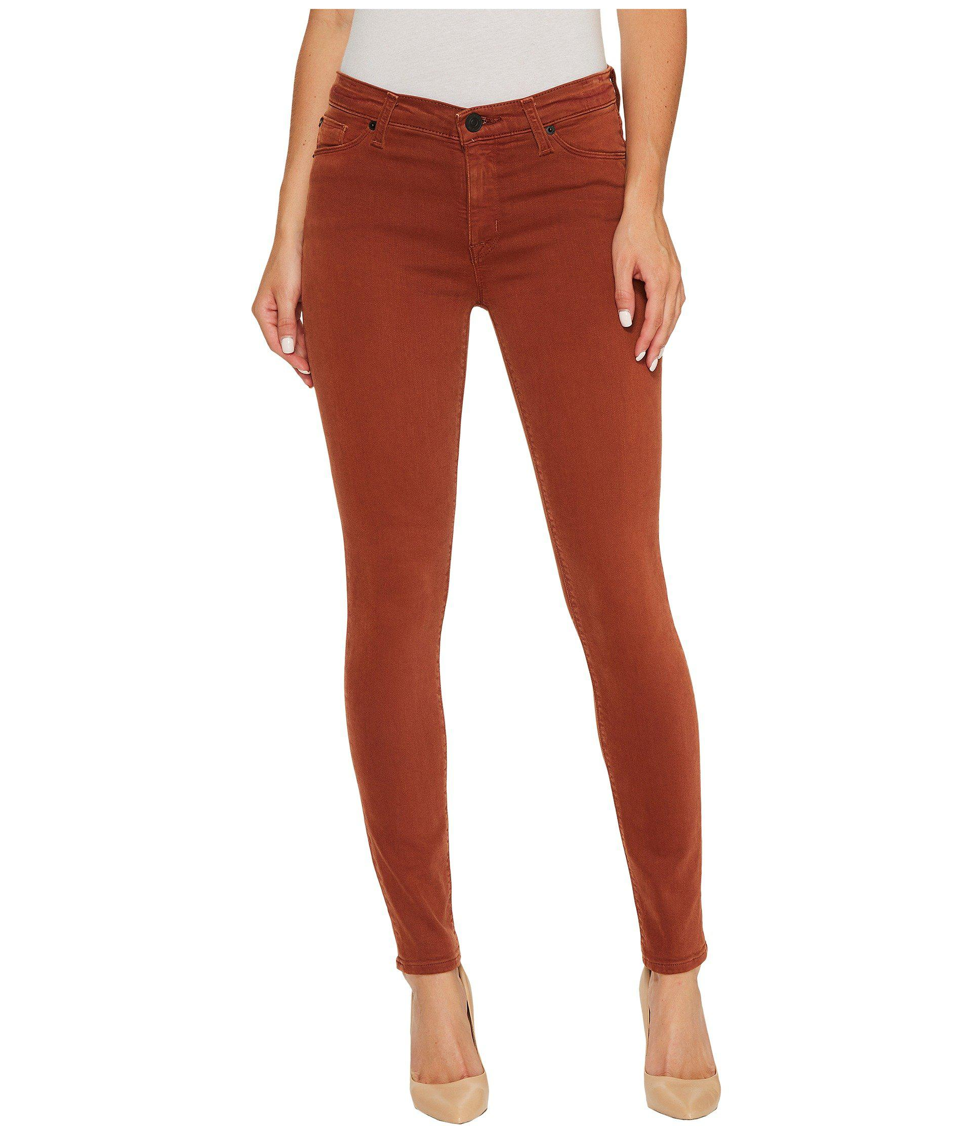 011b765ef4d Lyst - Hudson Jeans Nico Mid-rise Ankle Super Skinny In Distressed ...