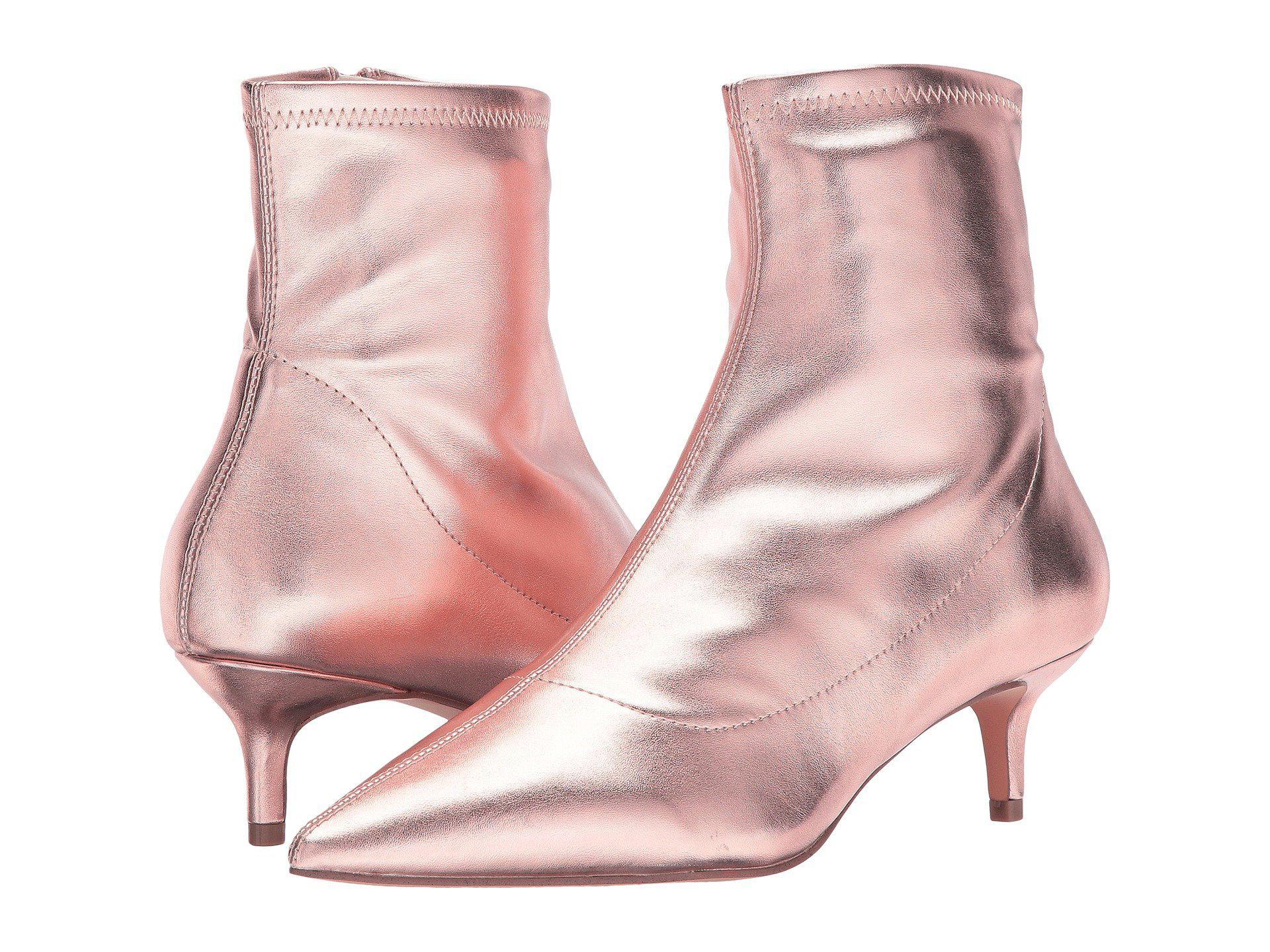 599fab17e80 Lyst - Free People Marilyn Kitten Heel in Pink - Save 57%