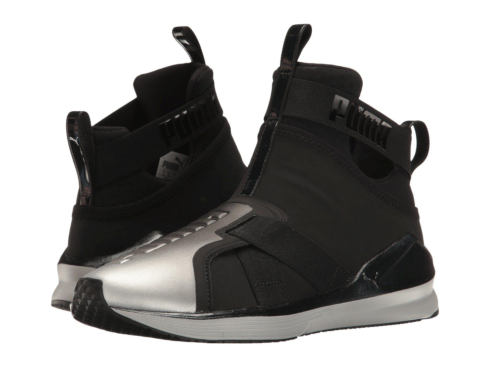 PUMA. Men's Black Fierce Strap Metallic