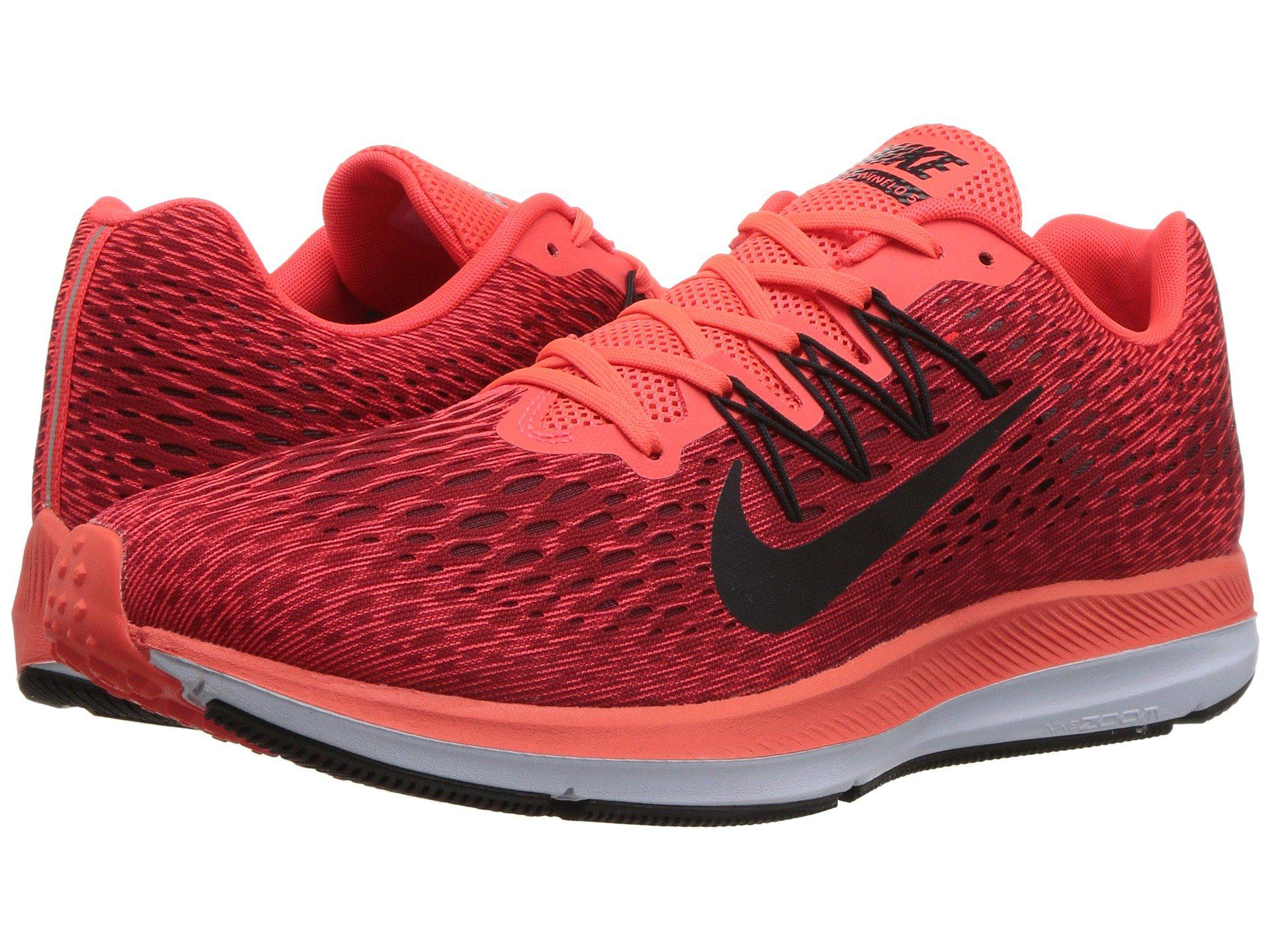 78d6713f218b Lyst - Nike Air Zoom Winflo 5 in Red for Men - Save 27%