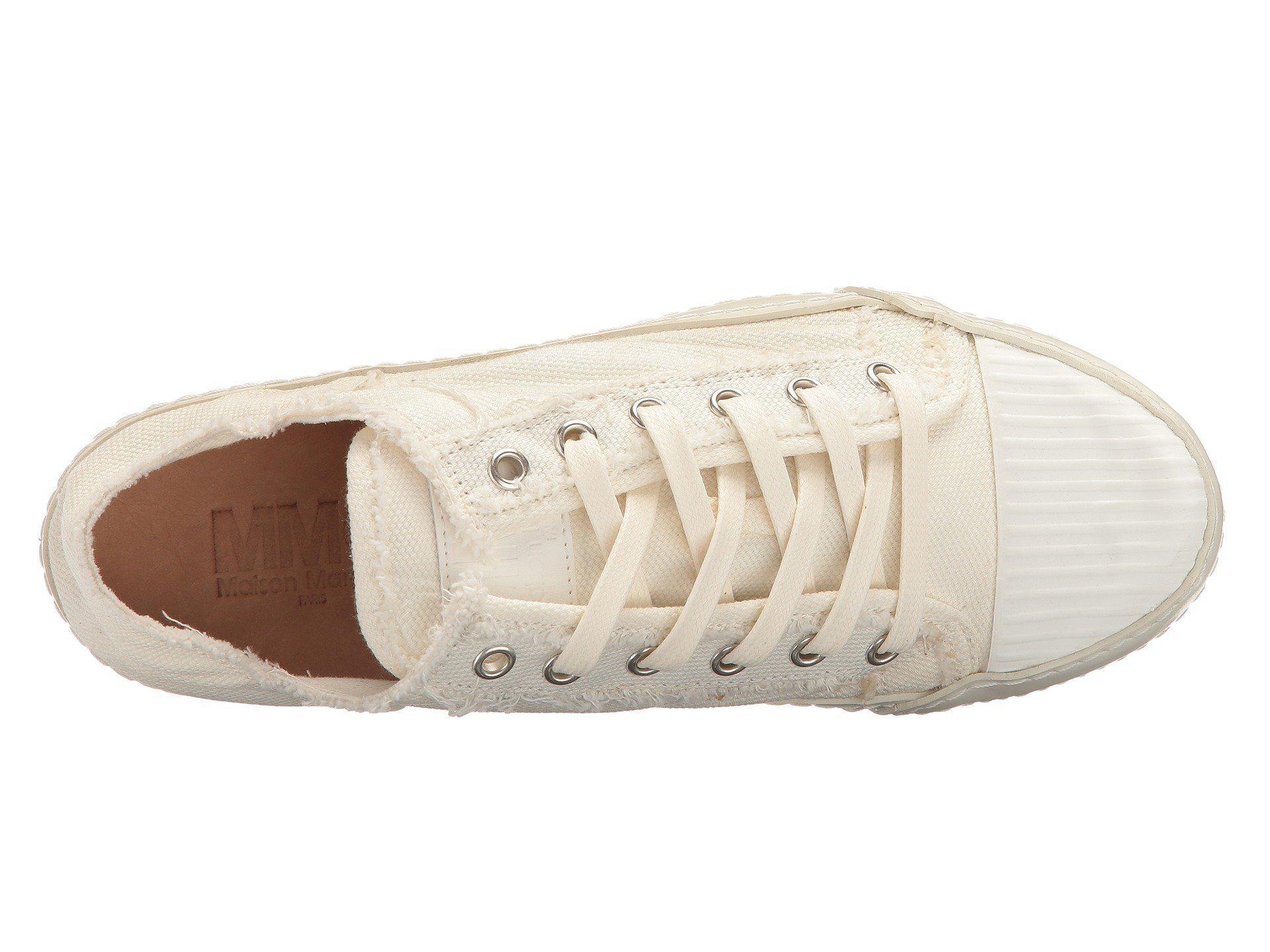 MM6 Maison Margiela Canvas Low Sneaker v7bbSML4