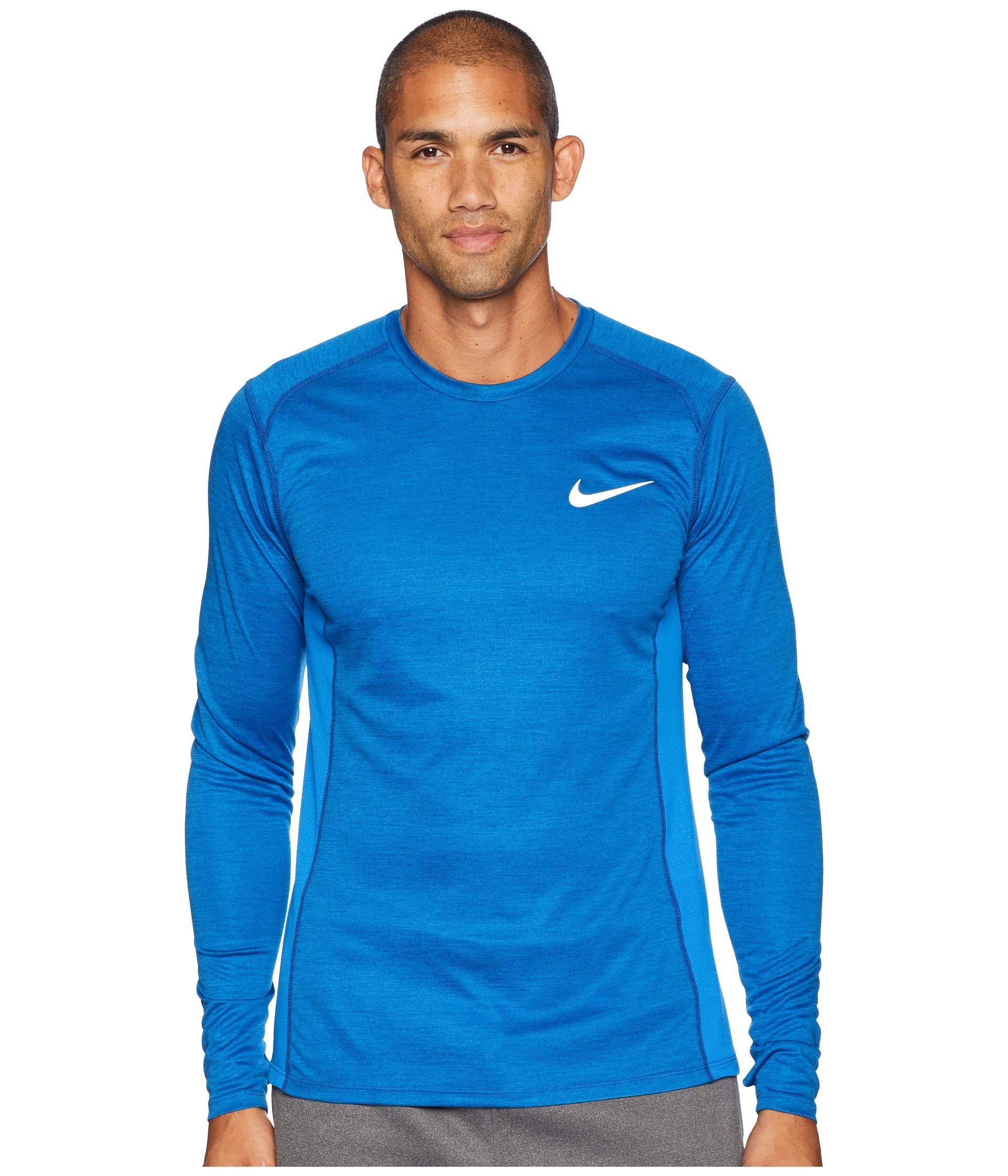 17c6c0599 Nike Miler Long Sleeve T Shirt Mens - DREAMWORKS