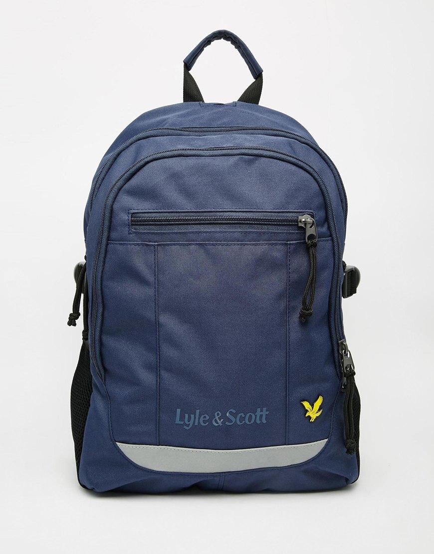 Lyst Lyle Amp Scott Tactical Backpack In Blue For Men