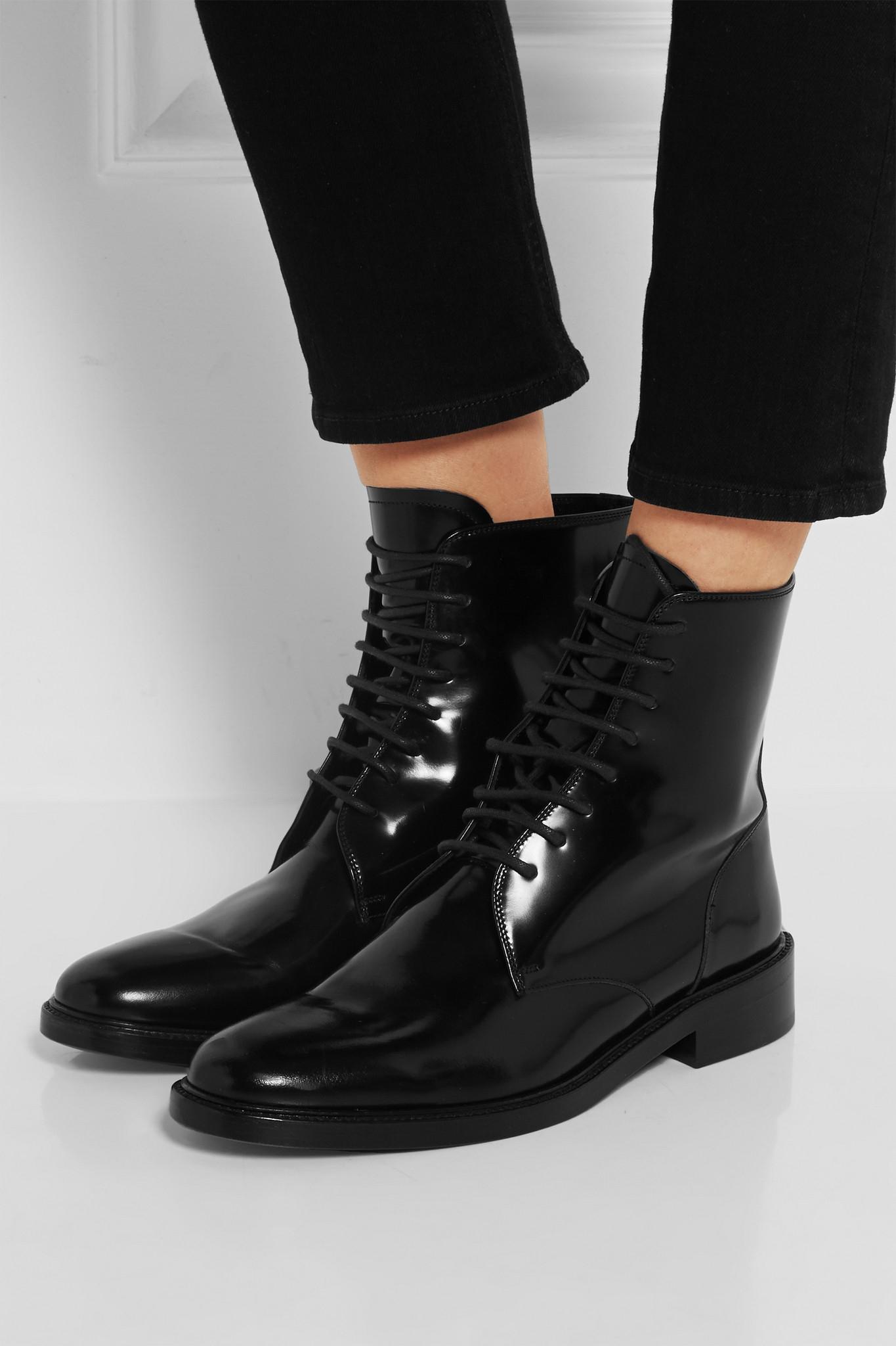 Nautica Leather Shoes Black