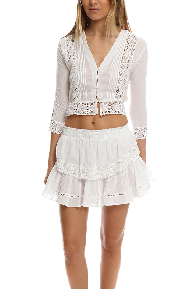 Womens White Victorian Blouse 21