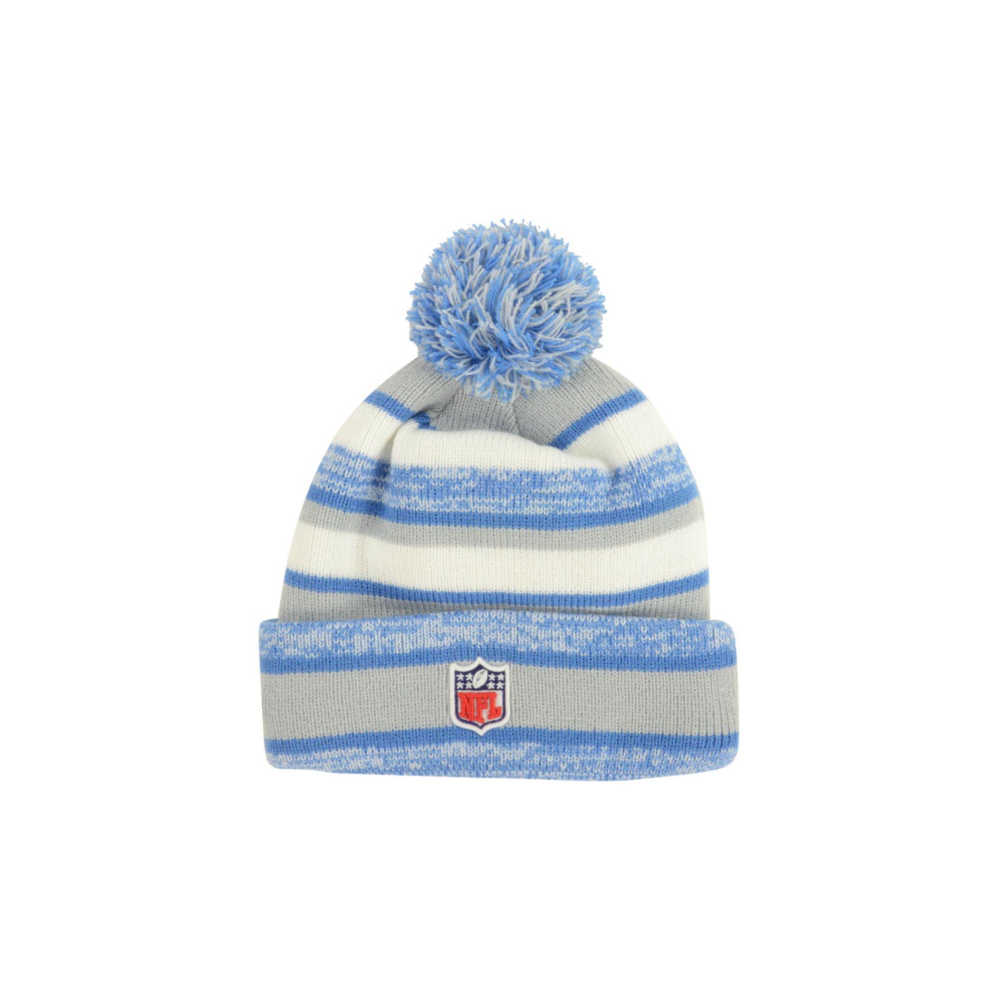 newest 94bab 78df6 Lyst - KTZ Detroit Lions Sport Knit Hat in Blue for Men