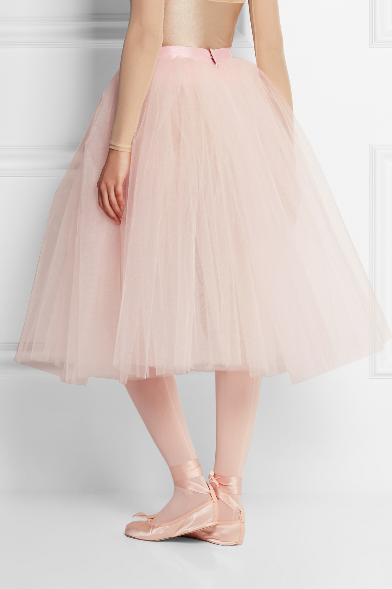 ballet beautiful tulle skirt in pink lyst