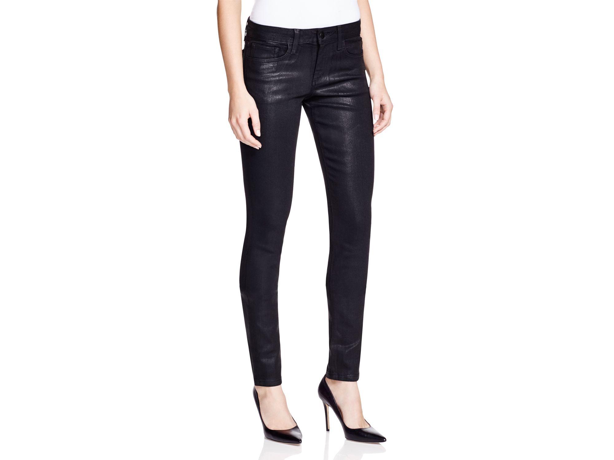 Coated jeans women