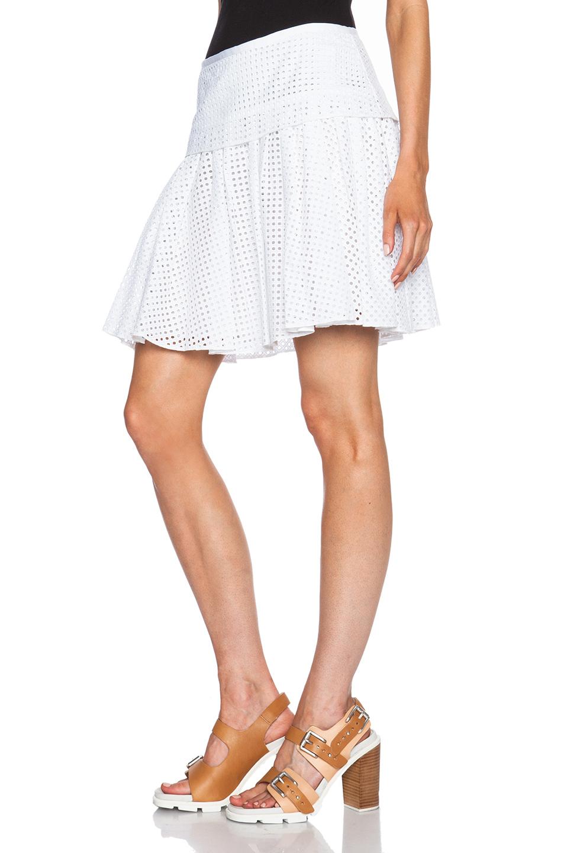 836523bb83 Rag & Bone Lakewood Skirt in White - Lyst