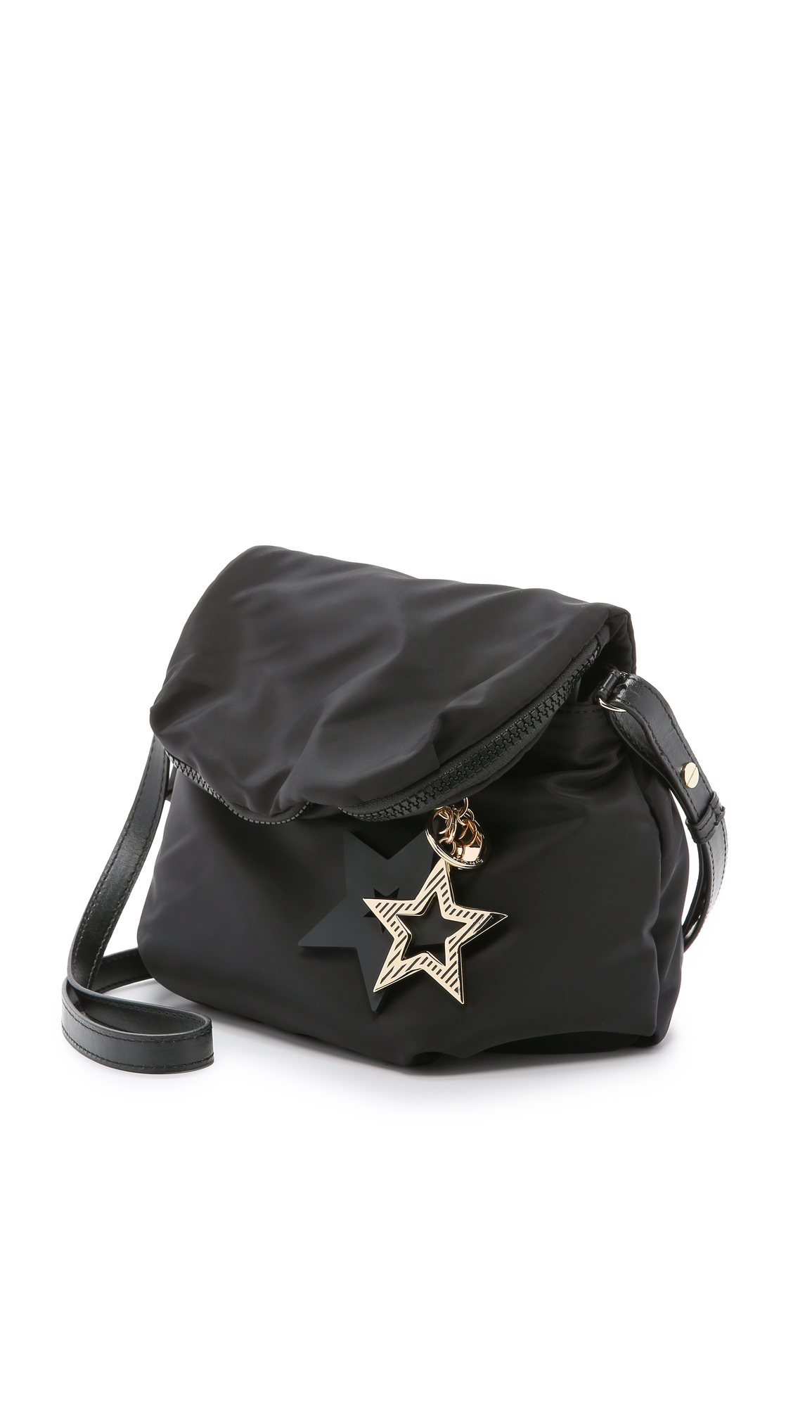 276f22a113cc Lyst - See By Chloé Joy Rider Cross-Body Bag in Black