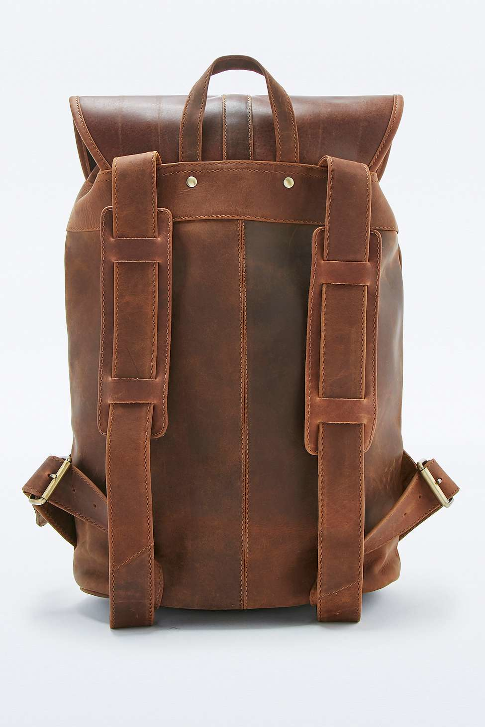 Forbes & Lewis Lincoln Vintage Leather Backpack in Brown for Men