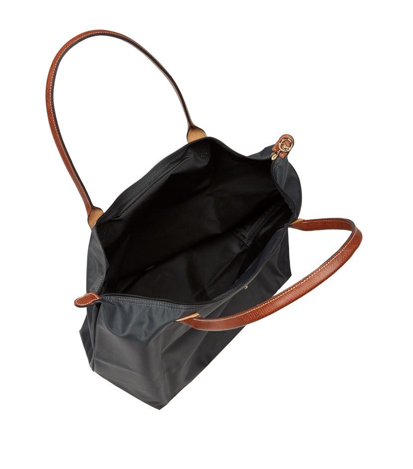 Longchamp Bag Le Pliage Australia : Longchamp le pliage large shoulder bag in white lyst