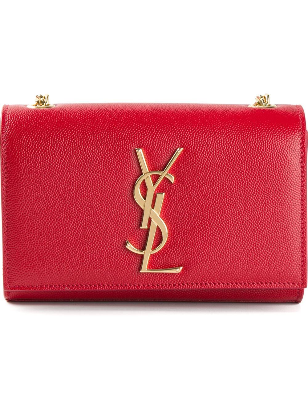 monogram small crossbody bag  red  yves saint laurent cabas chyc tote bag large
