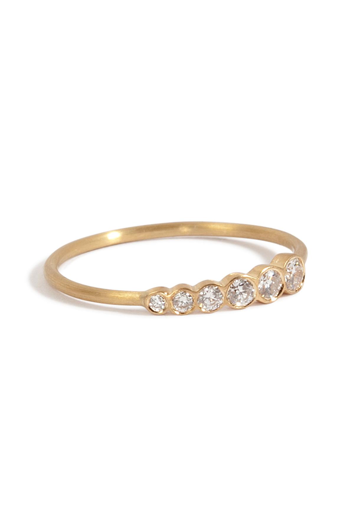 Ocean 18-karat Gold Diamond Ring - 6 Sophie Bille Brahe 6dDrbYhd