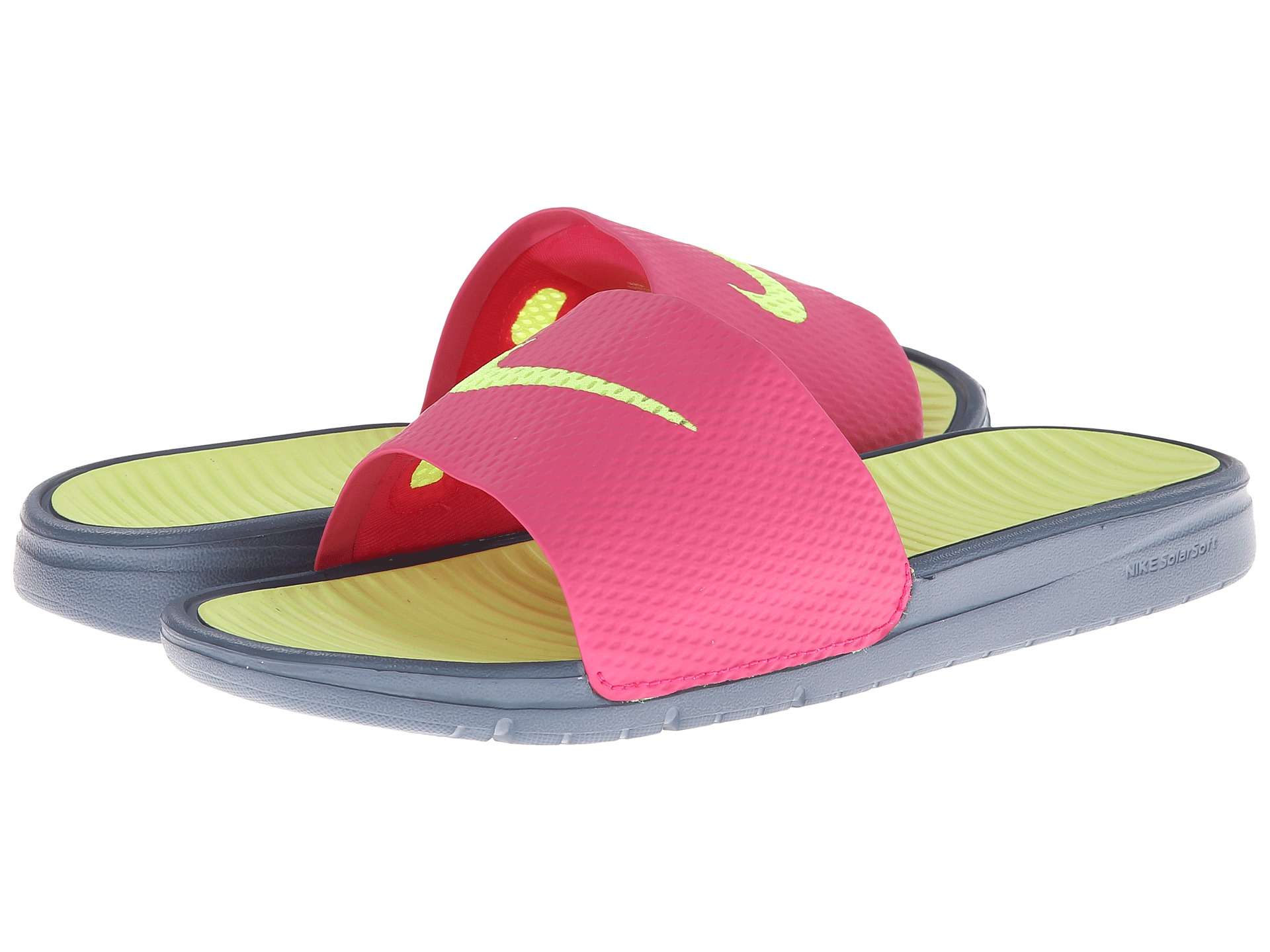 cf09306bd81e ... solarsoft slide 2 sandal black white c9a20 d67c7  ebay gallery.  previously sold at zappos womens nike benassi 1c064 cc2b8