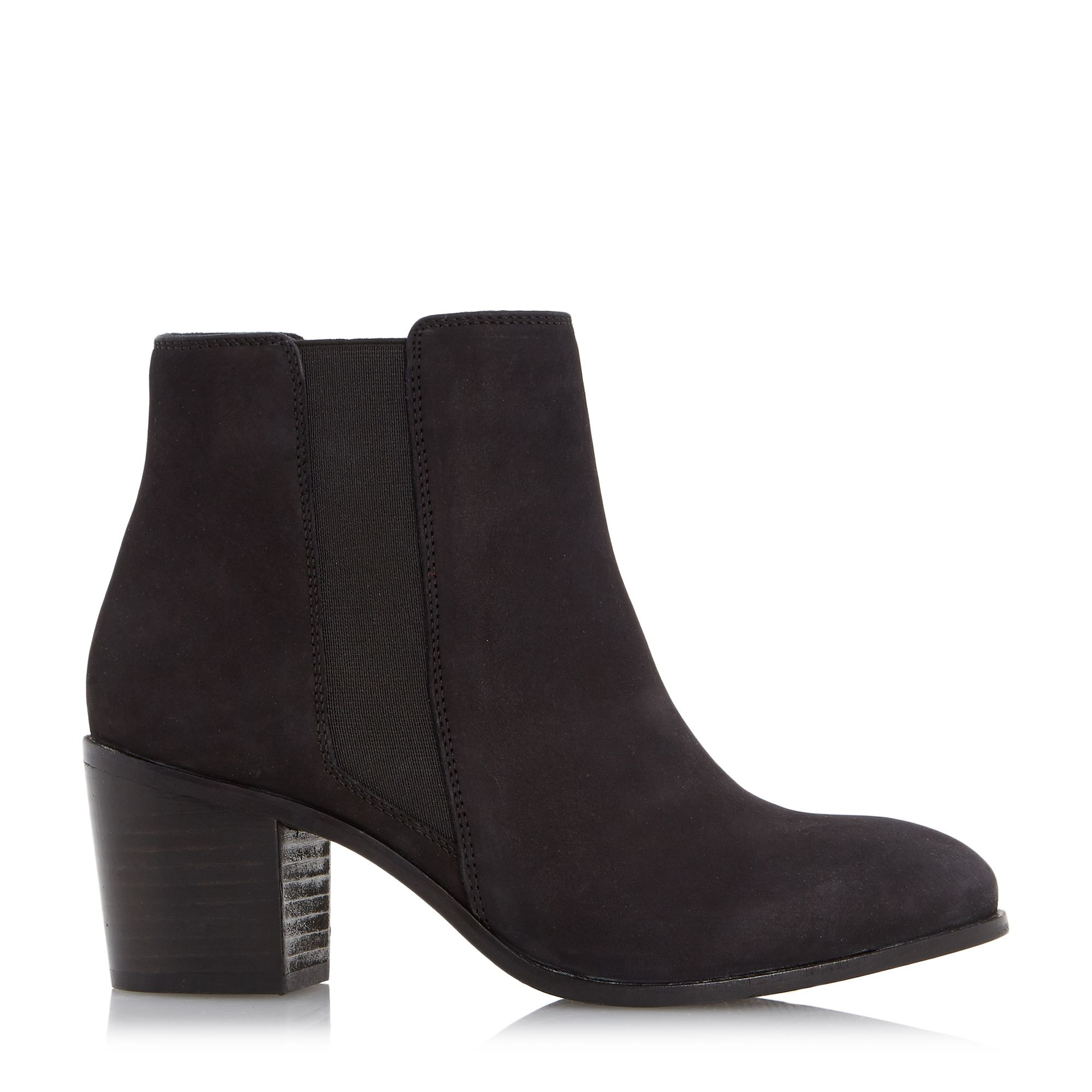 Buy Chocolate Leather Office Abacus Mid Heel Chelsea Boots from 0549sahibi.tk