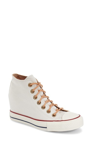 Converse Chuck Taylor All Star 'lux' Hidden Wedge High Top ...