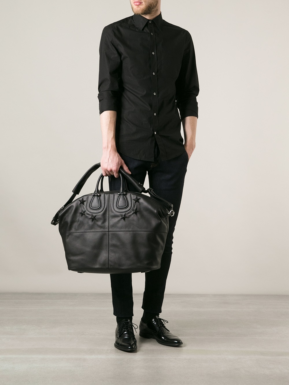 Lyst Givenchy Nightingale Holdall In Black For Men